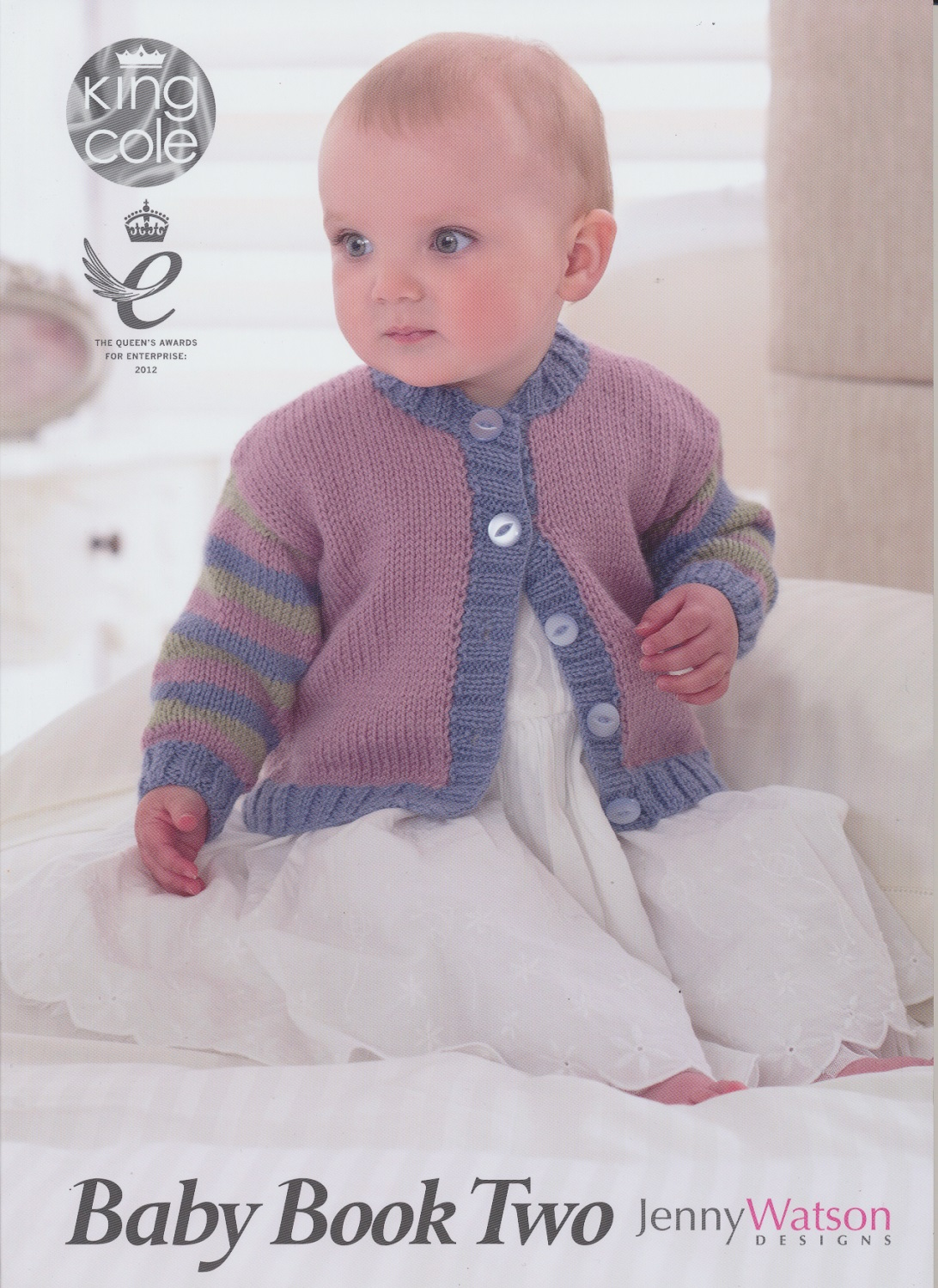Knitting For Babies Books : King cole baby book two knitting double knit patterns