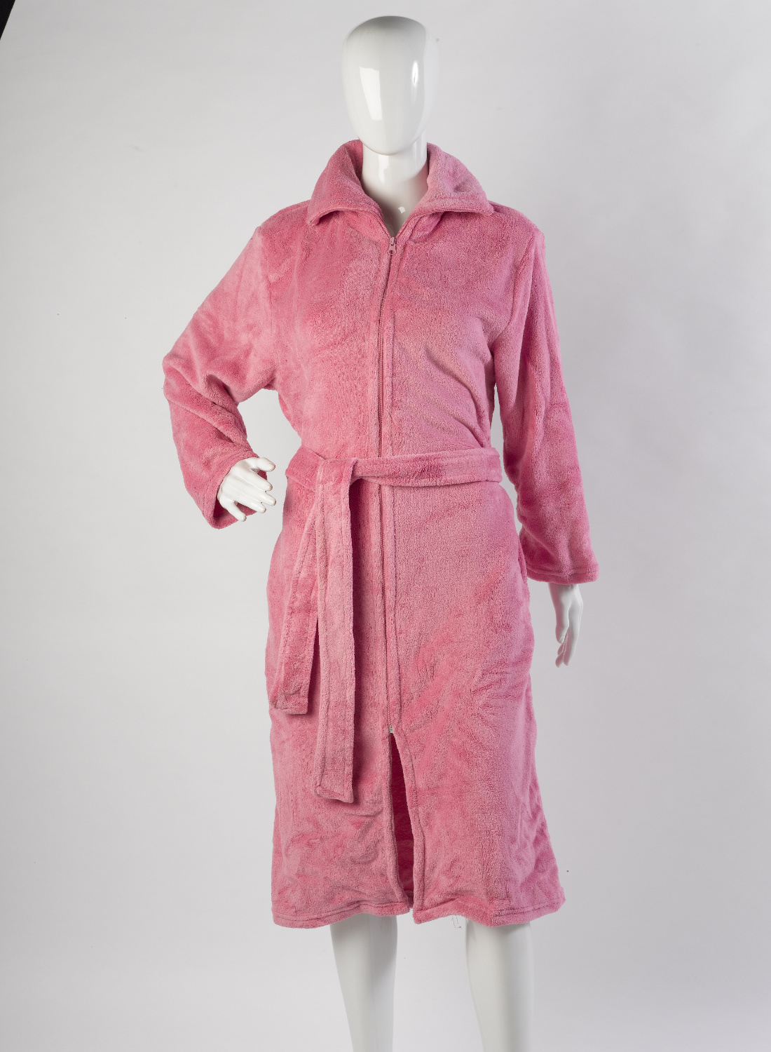 Womens Luxury Gift Wrapped Zip Bathrobe Ladies Slenderella