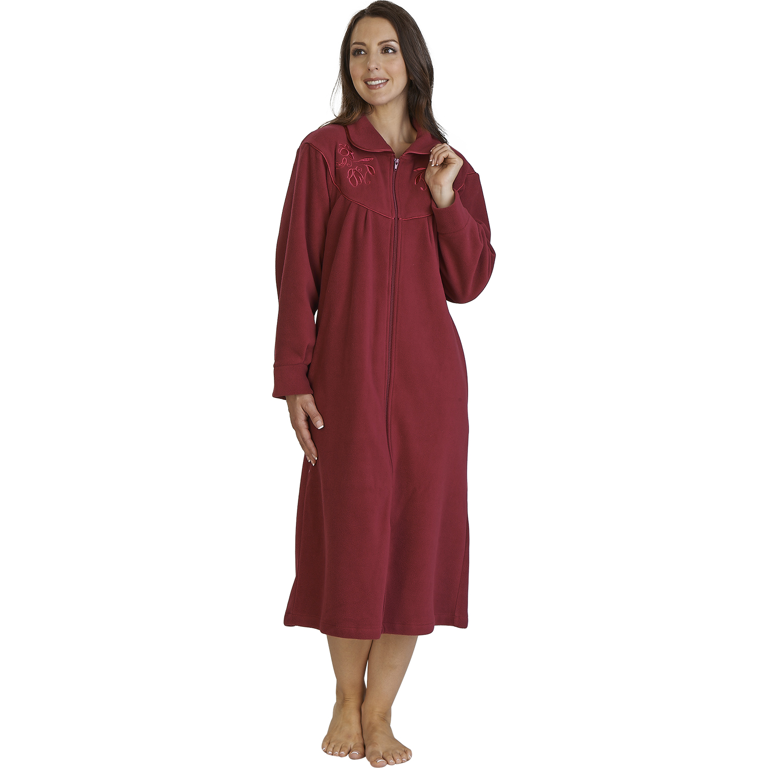 Discover our fabulous range of gowns and wraps and get ready to wrap up warm on those cold evenings! Slip on after showering, or wear during the daytime or evening as a relaxed-fitting, casual garment. Click here to shop.