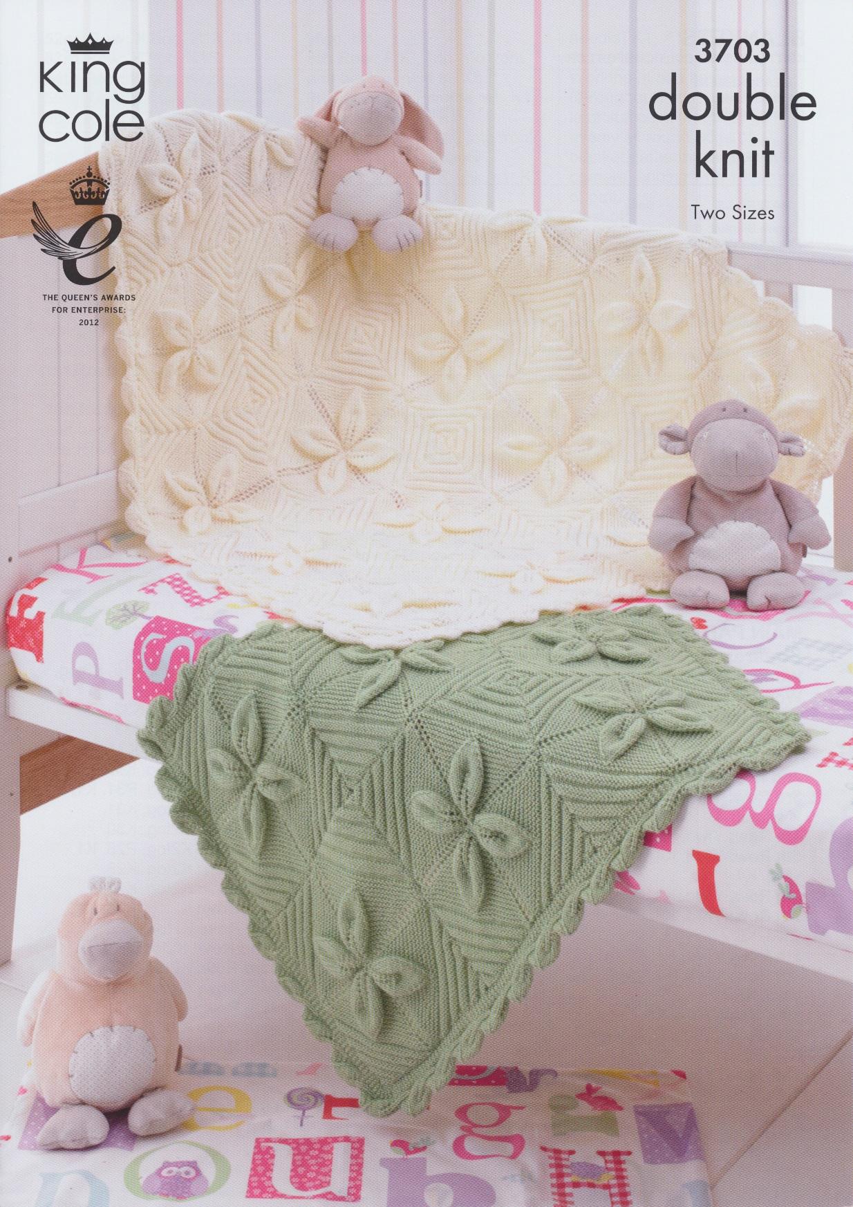 Babies Double Knitting DK Pattern King Cole Baby Pram ...