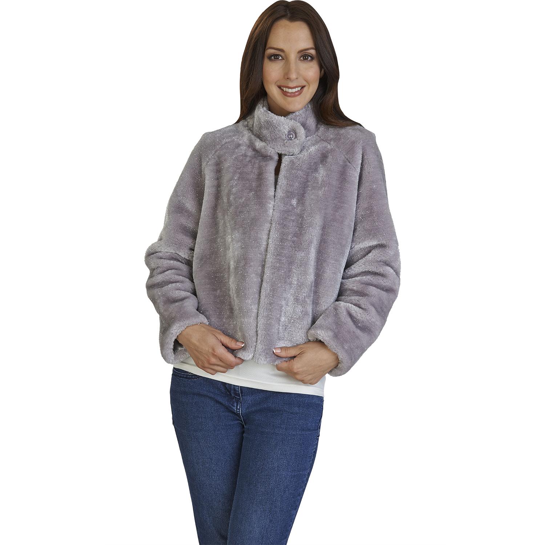 Ladies satin evening jackets