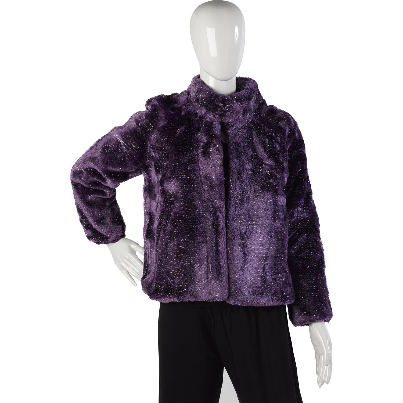 Ladies Slenderella Luxury Soft Fleece Sparkly Evening Jacket ...