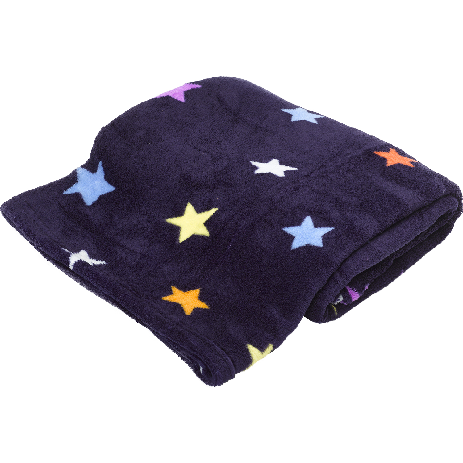 Boys outer space soft fleece throw catherine lansfield for Outer space fleece