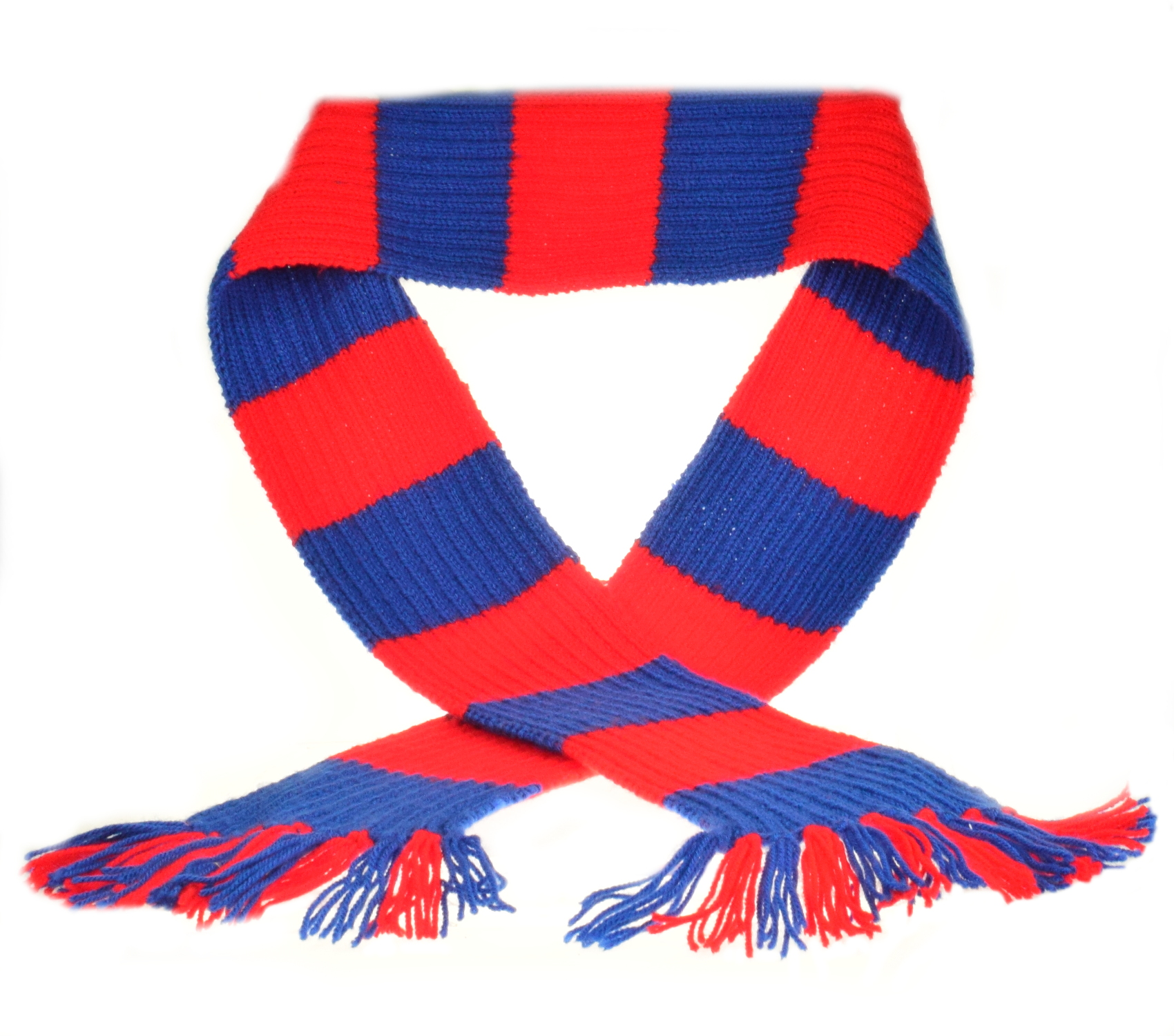 Knitting Pattern For Football Scarf : Craft Hobby Knitted Scarf Kit Premier League Football DK ...