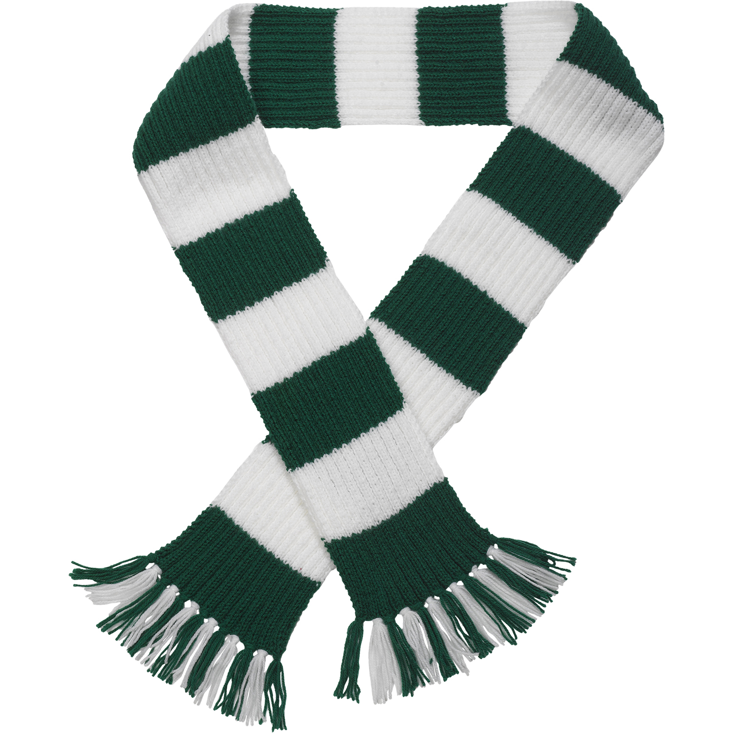 Premier League Team Striped Football Scarf Knitting Pattern Wool Craft Hobby ...