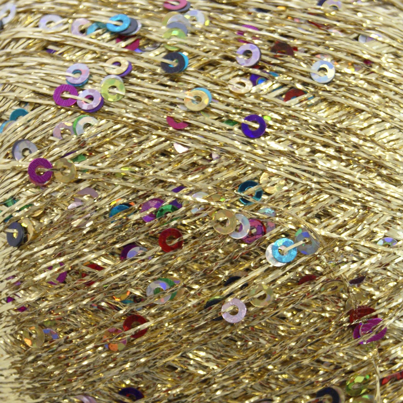 King Cole 25g Cosmos Glitter Sparkle Knitting Yarn Metallic Sequin Craft Wool