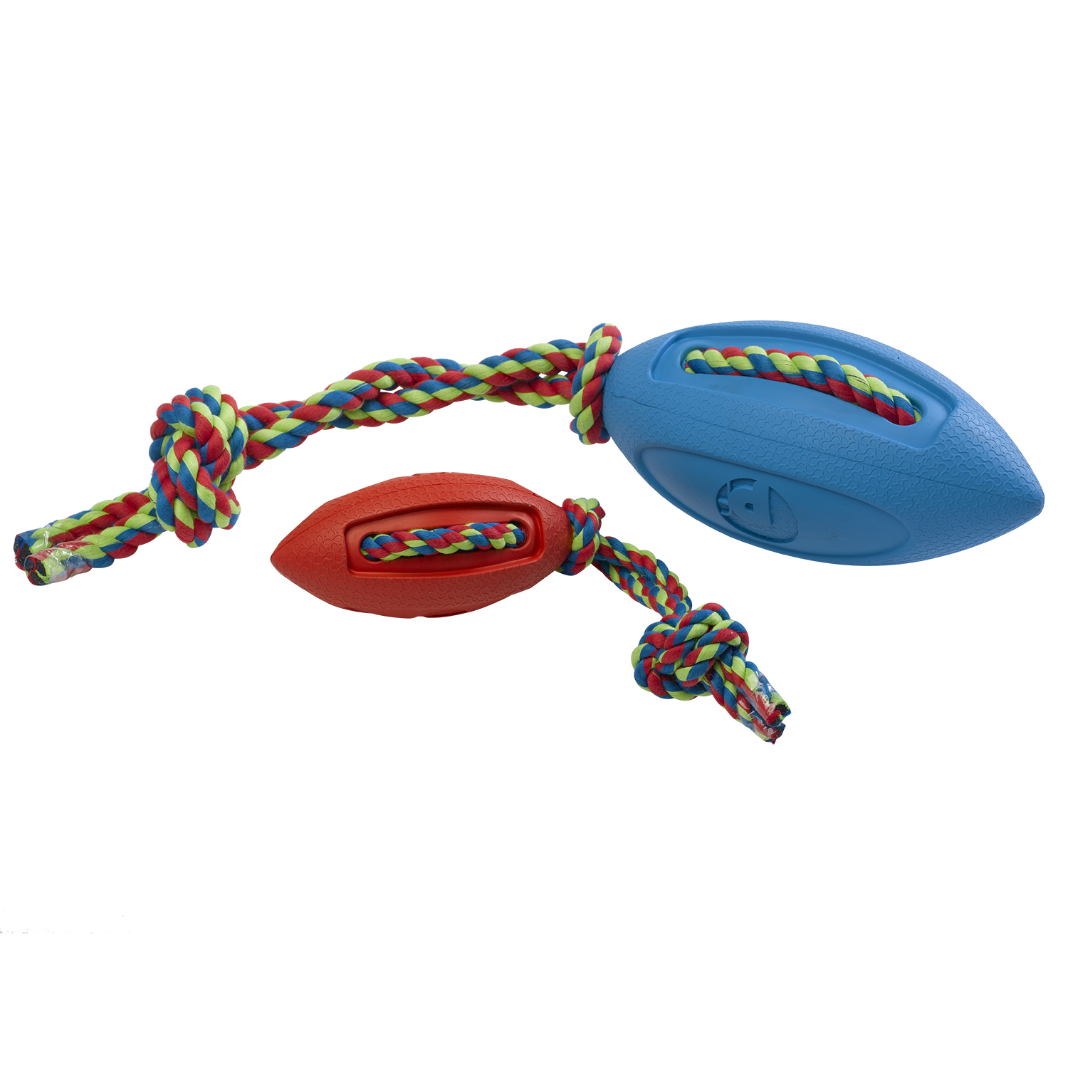petface toyz rugby tugger dog puppy tug chase fun
