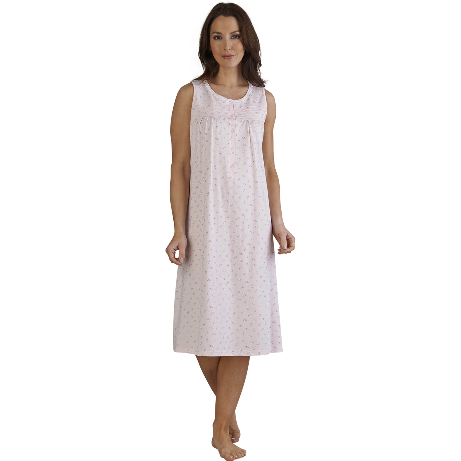 Shop womens' M&S nightdresses from light nightshirts to full-length nighties in satin or silk. Order online for home delivery or free collection from store.