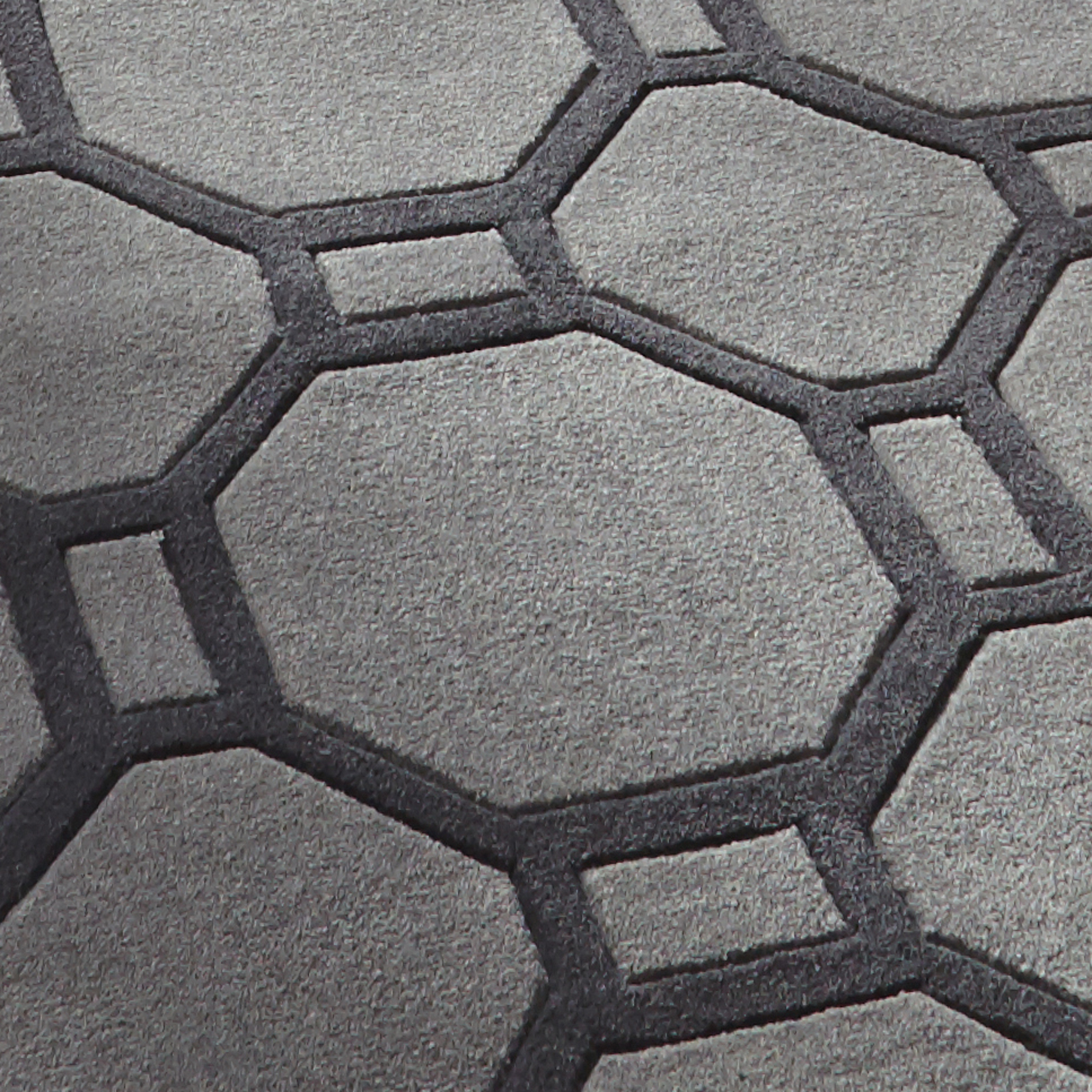 Hong Kong Octagon Amp Rectangle Rug 100 Hand Tufted Acrylic