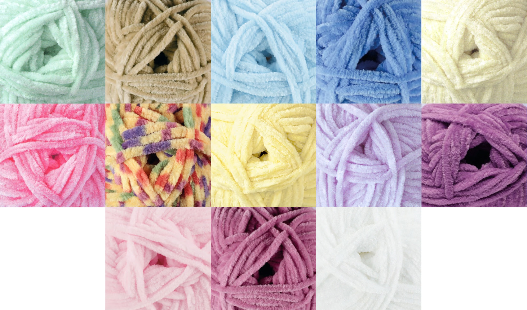 Knitting Patterns For Flutterby Wool : Flutterby Chunky Super Soft Polyester Knitting Wool 100g Ball James Brett Yar...