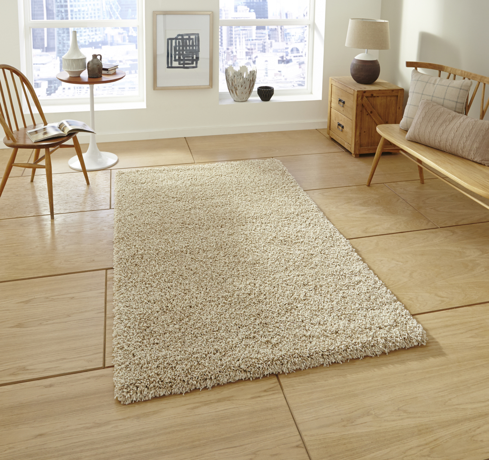 Soft Thick Gy Pile Rug Heavy Weight 100