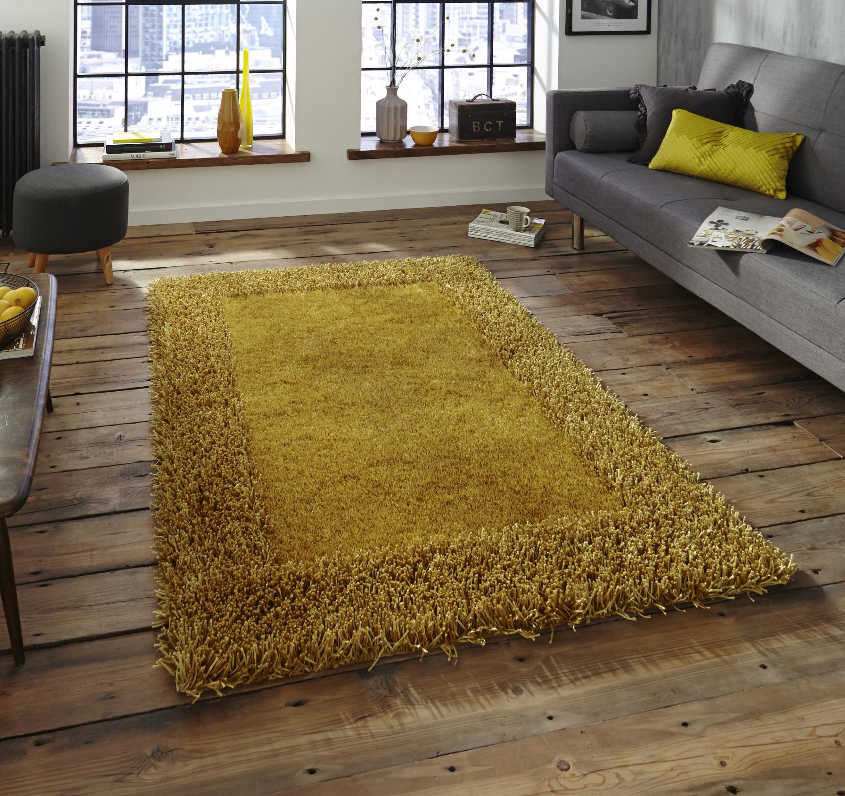 Soft sable shaggy pile rug hand tufted rectangle design for Floor mat design