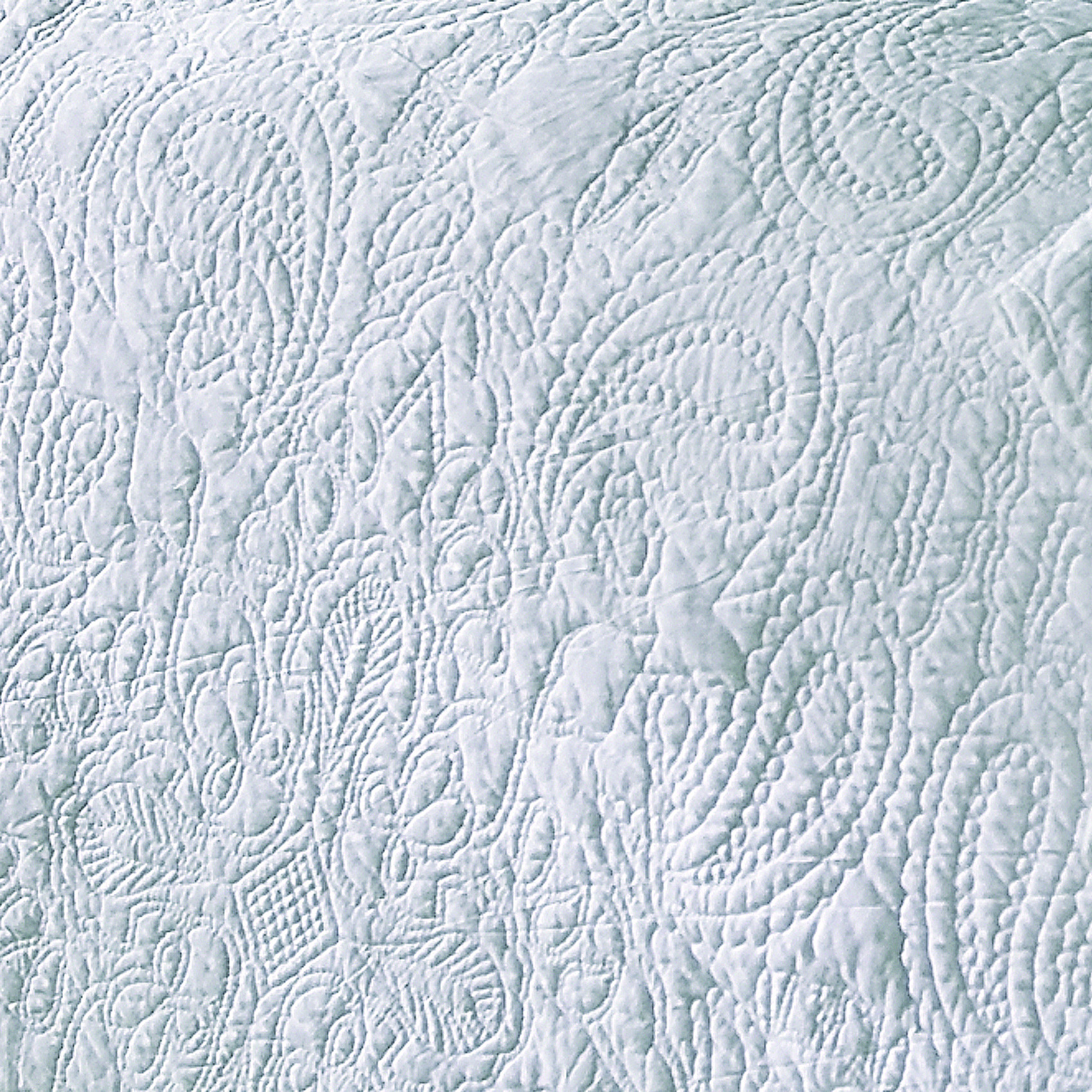 Bedspread designs texture - Sashi Lyon Paisley Design Bedspread Pillow Sham Set Luxury