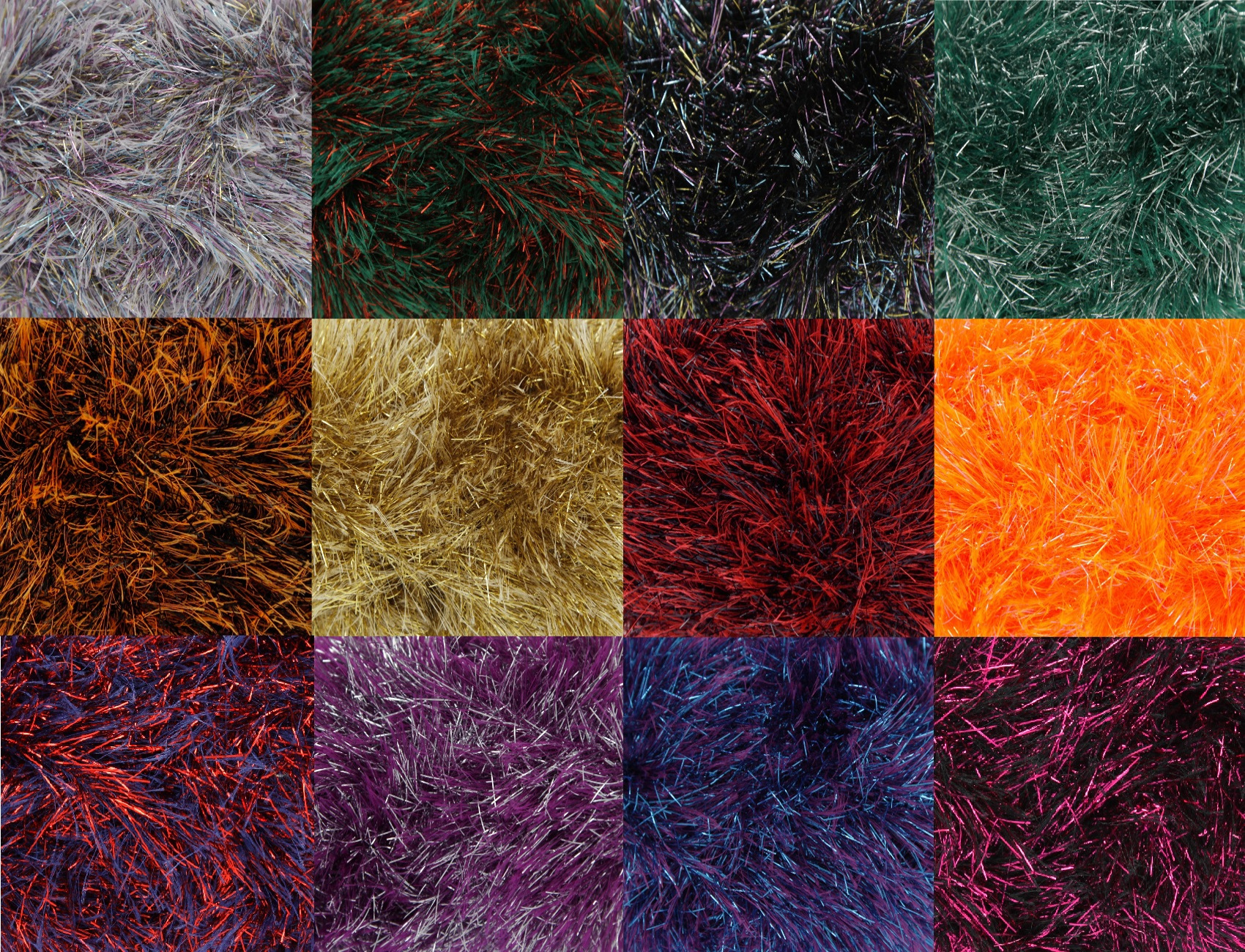 50g King Cole Tinsel Chunky Two Tone Knitting Yarn Festive Craft Wool & P...