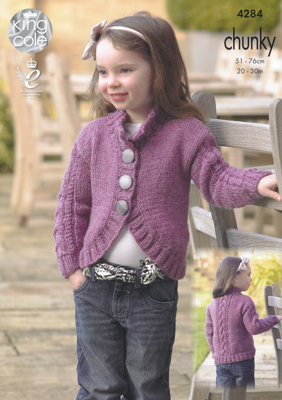Chunky Knit Cardigan Pattern For Children ~ Ipaa.info for .