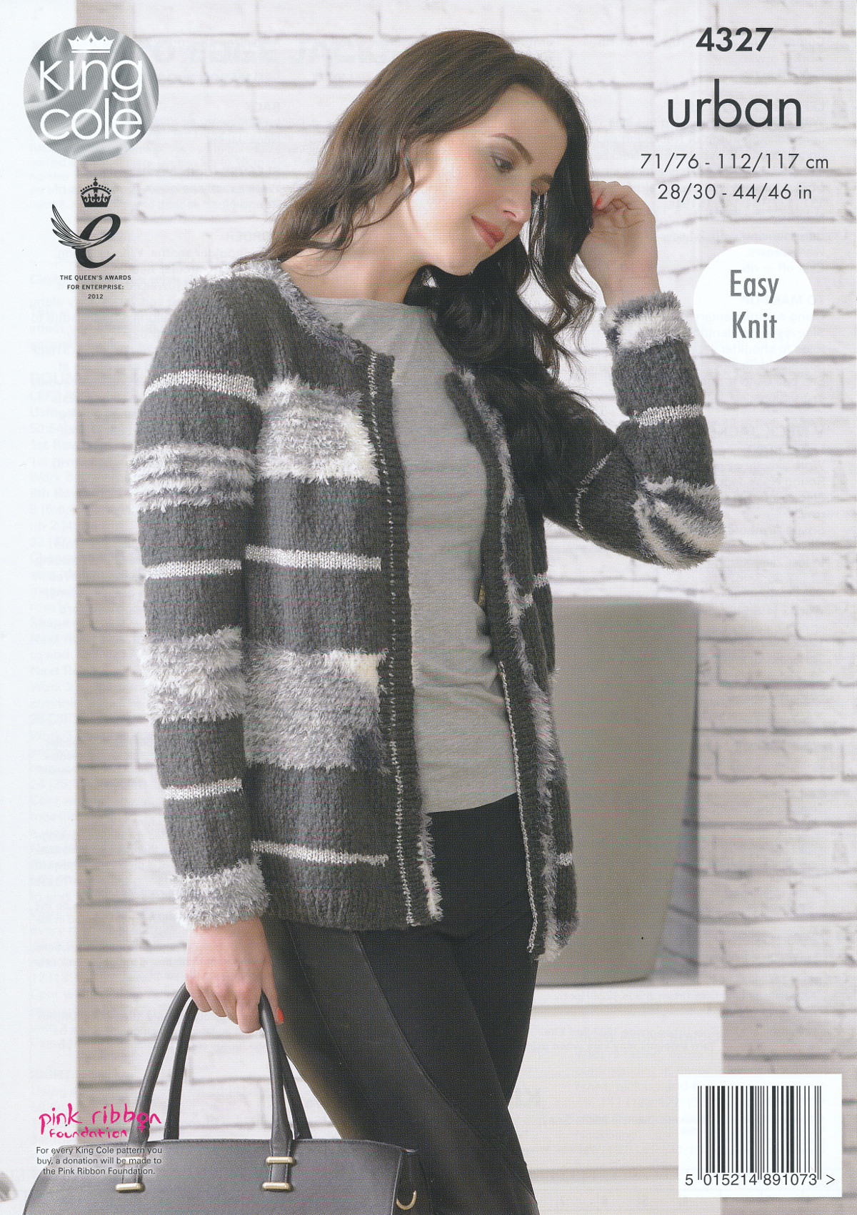 Free Knitting Patterns For Dogs Sweater : King Cole Urban Knitting Pattern Ladies Womens Easy Knit Long Sleeve Jacket 4...