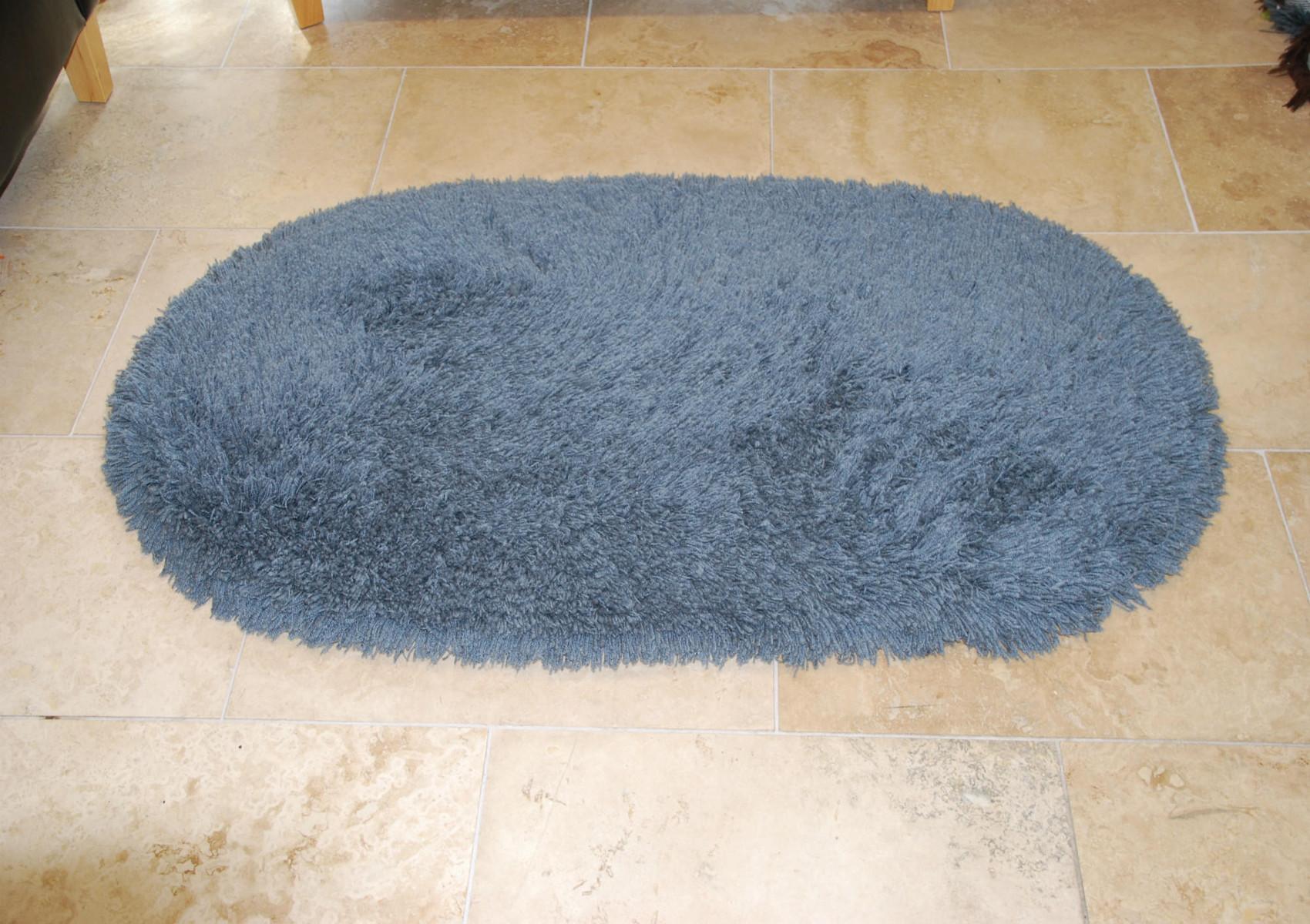 Rainbow washable contemporary oval floor rug shaggy pile for 100 floors floor 75