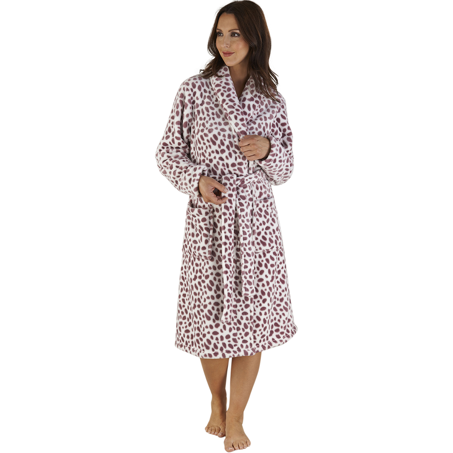 51af76e0092f Animal Print Dressing Gowns. Shop stylish dressing gowns   robes for women.  Browse towelling gowns for a chic addition
