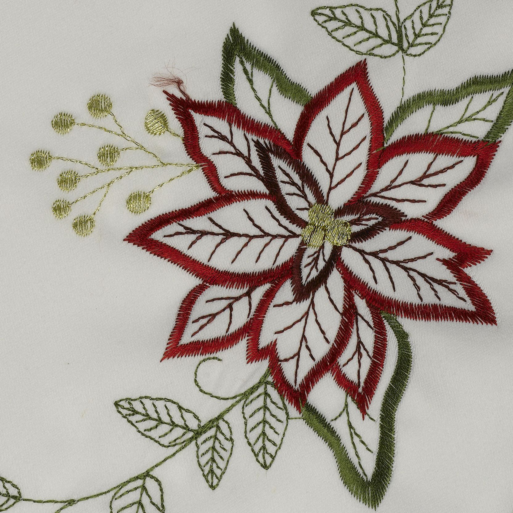 Christmas Pack of 2 Floral Embroidered Table Mats Festive  : faith floral embroidered christmas festive table mat doiley close up 1 from www.ebay.fr size 1700 x 1700 jpeg 916kB