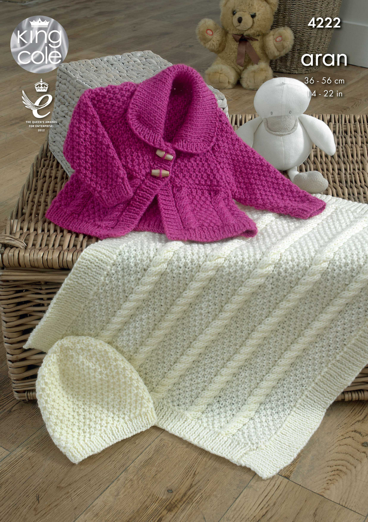 Knitting Pattern King Cole : Baby Knitting Pattern King Cole Blanket, Jacket and Hat ...