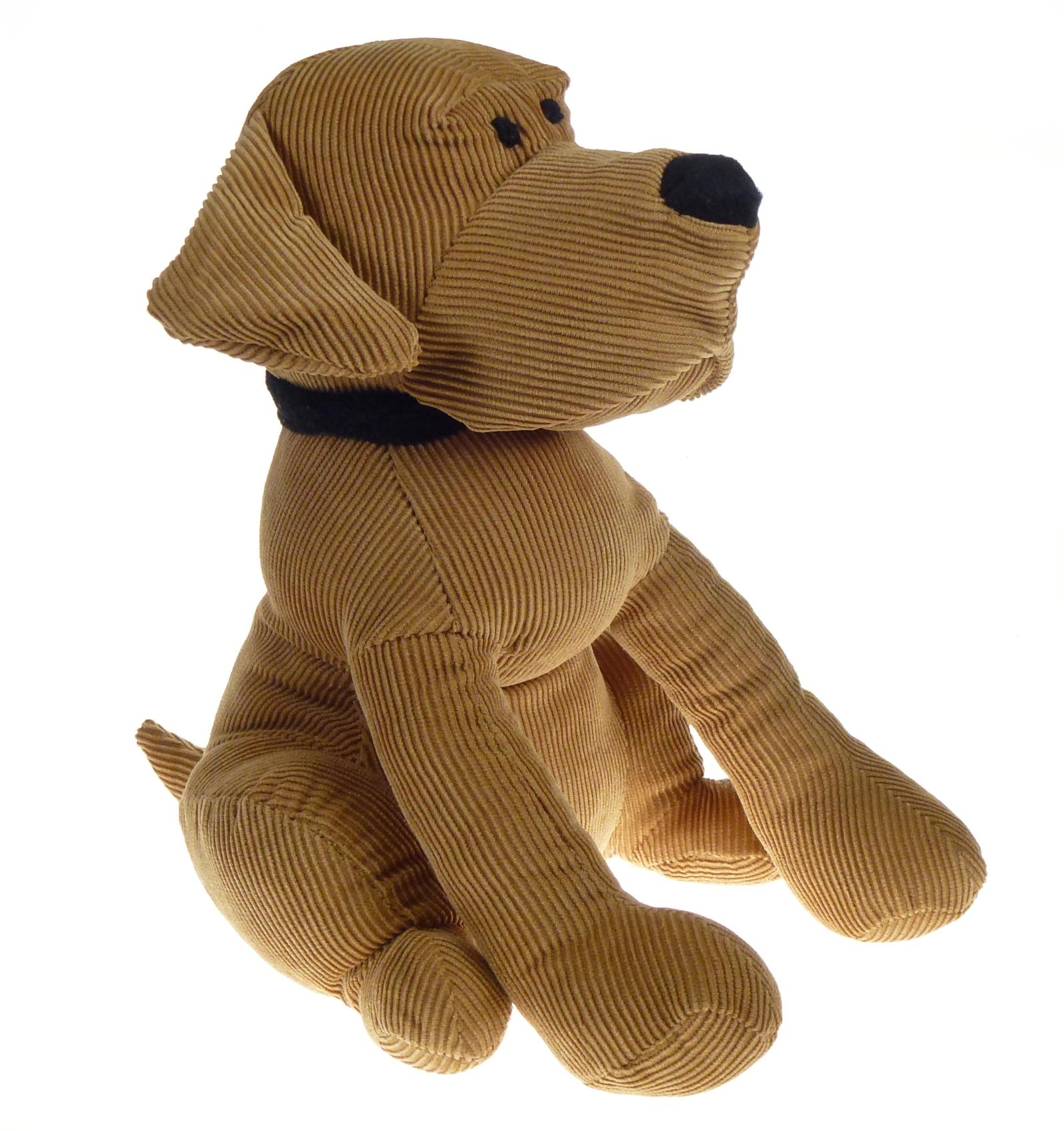 Brown dog door stopper 1kg heavy weight ribbed style animal home decor doorstop ebay - Dog door blocker ...