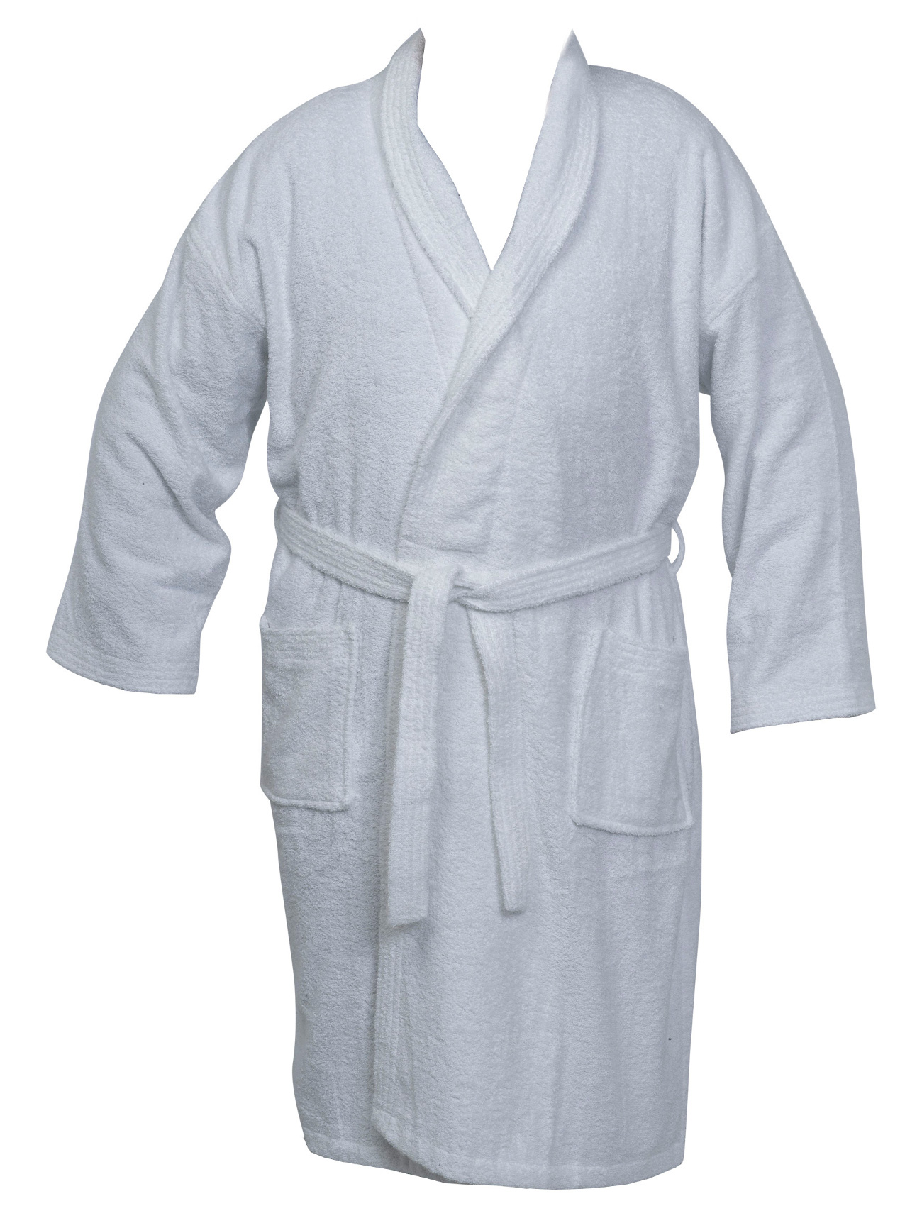 Womens Mens 100% Cotton Towelling Dressing Gown Plain Wrap Plus ...