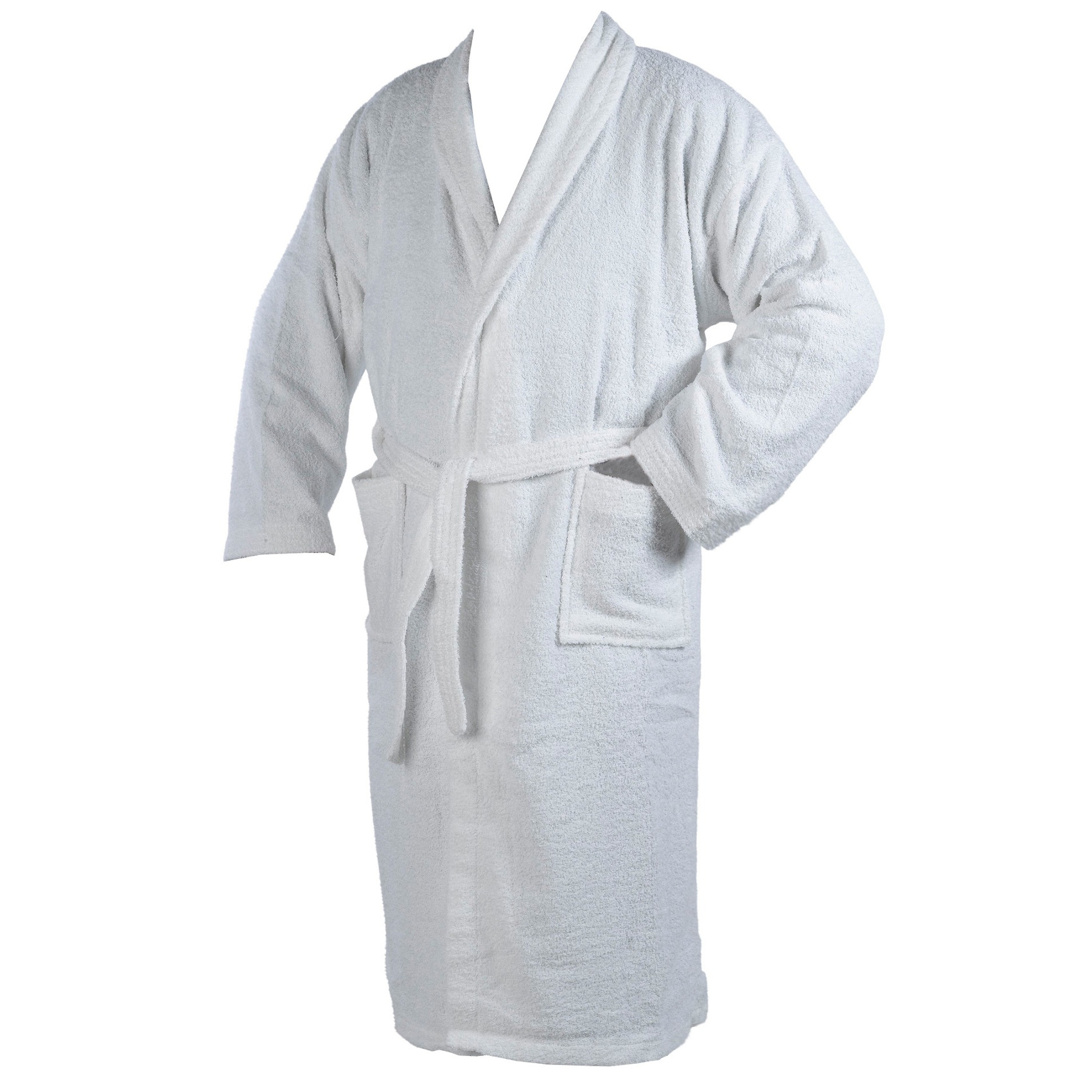 Dressing Gown 100 Cotton Terry Towelling Mens Womens Wrap