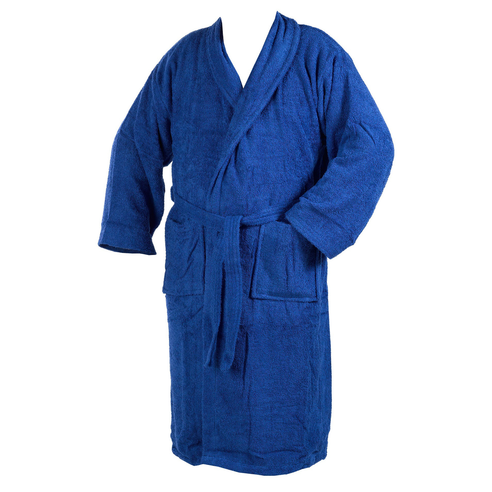 Soft Terry Towelling Bath Robe 100% Cotton Wrap Around Dressing Gown ...