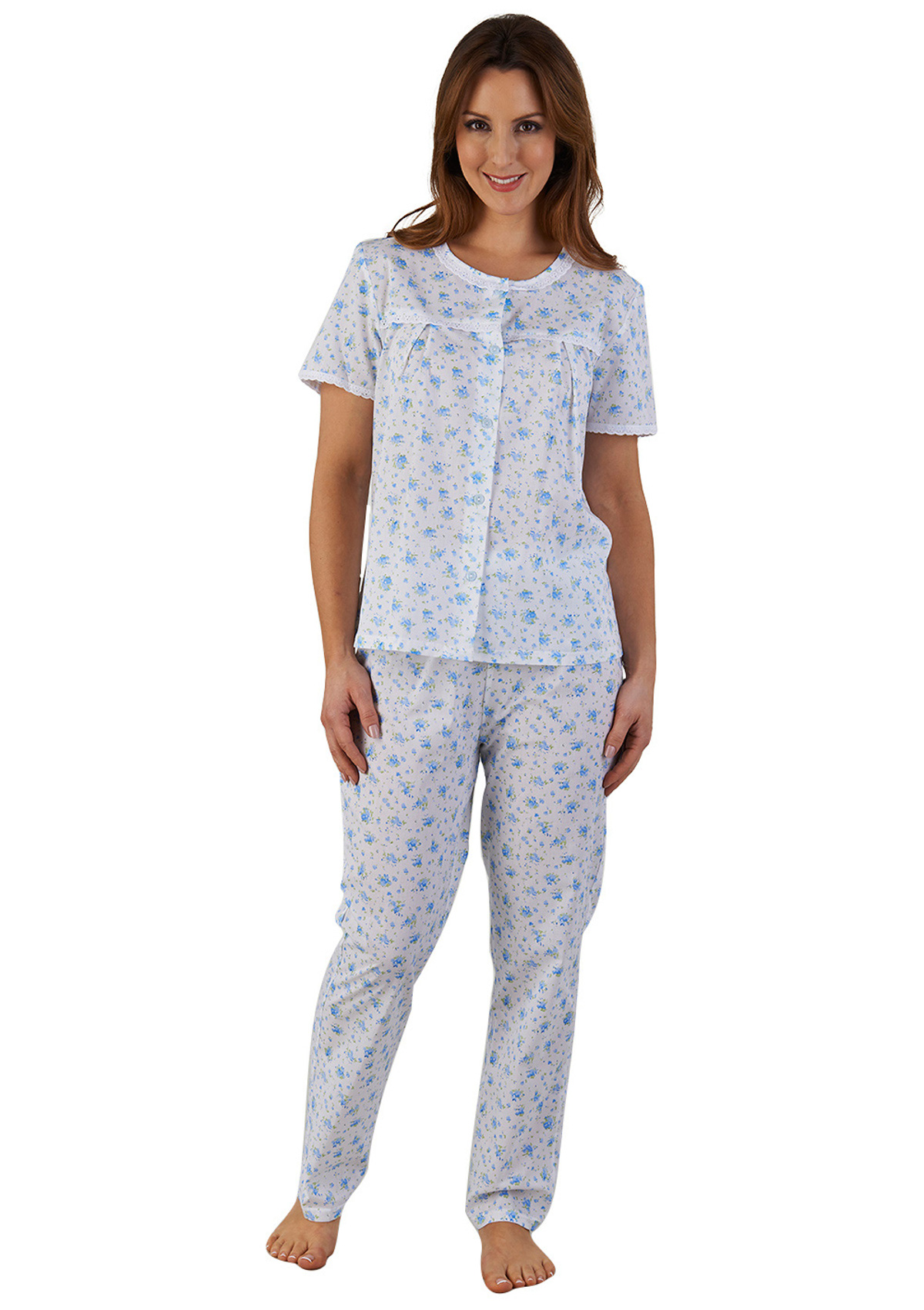Women's Pyjama Tops Upgrade your nightly rotation with pyjama tops in versatile designs to ensure a peaceful night's sleep. At George, our bedtime tops come in soft shades like pink, blue, white or grey.
