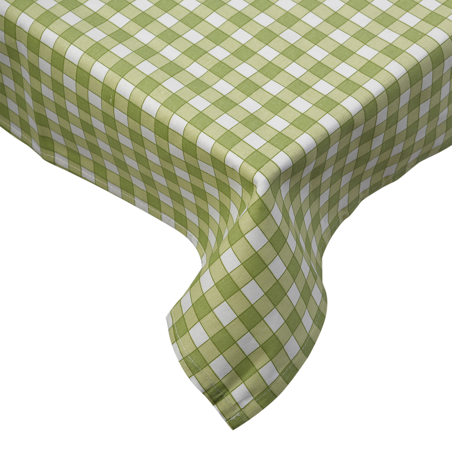 100% Cotton Gingham Check Tablecloth Dining Room Kitchen Linen ...