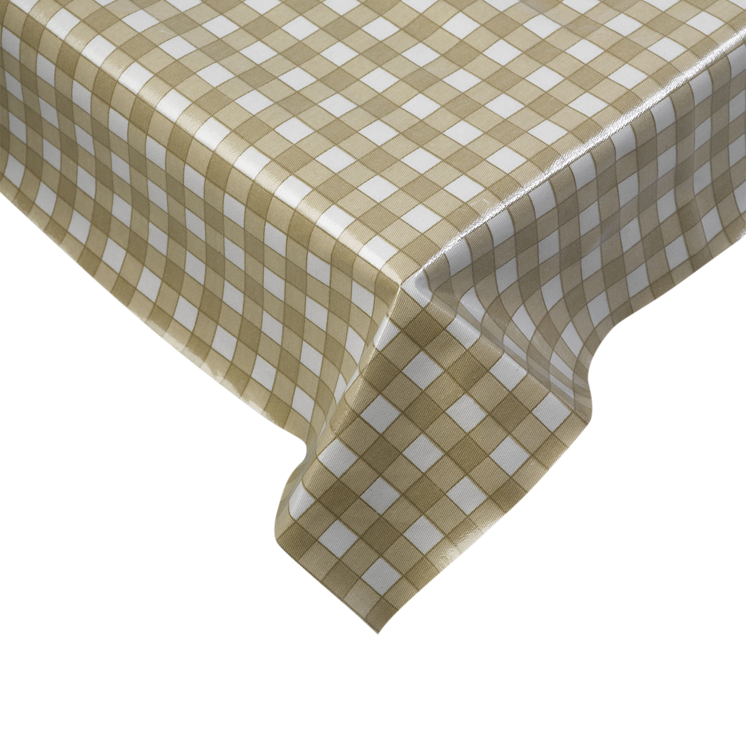 table protector. 100% cotton gingham check tablecloth dining room kitchen linen table protector e