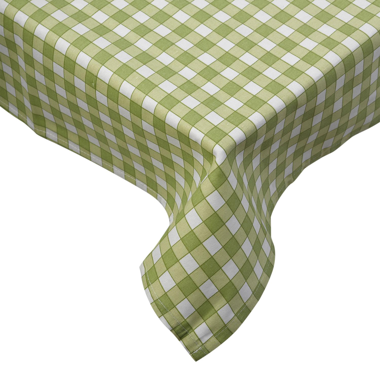 Tablecloth traditional gingham check 100 cotton picnic - Cuadros para bares ...