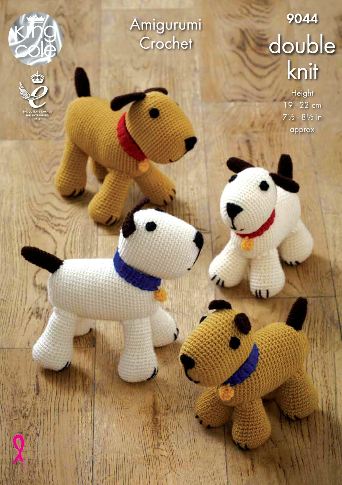 Amigurumi Dog Knitting Patterns : King Cole Amigurumi Crochet Double Knitting DK Pattern for ...