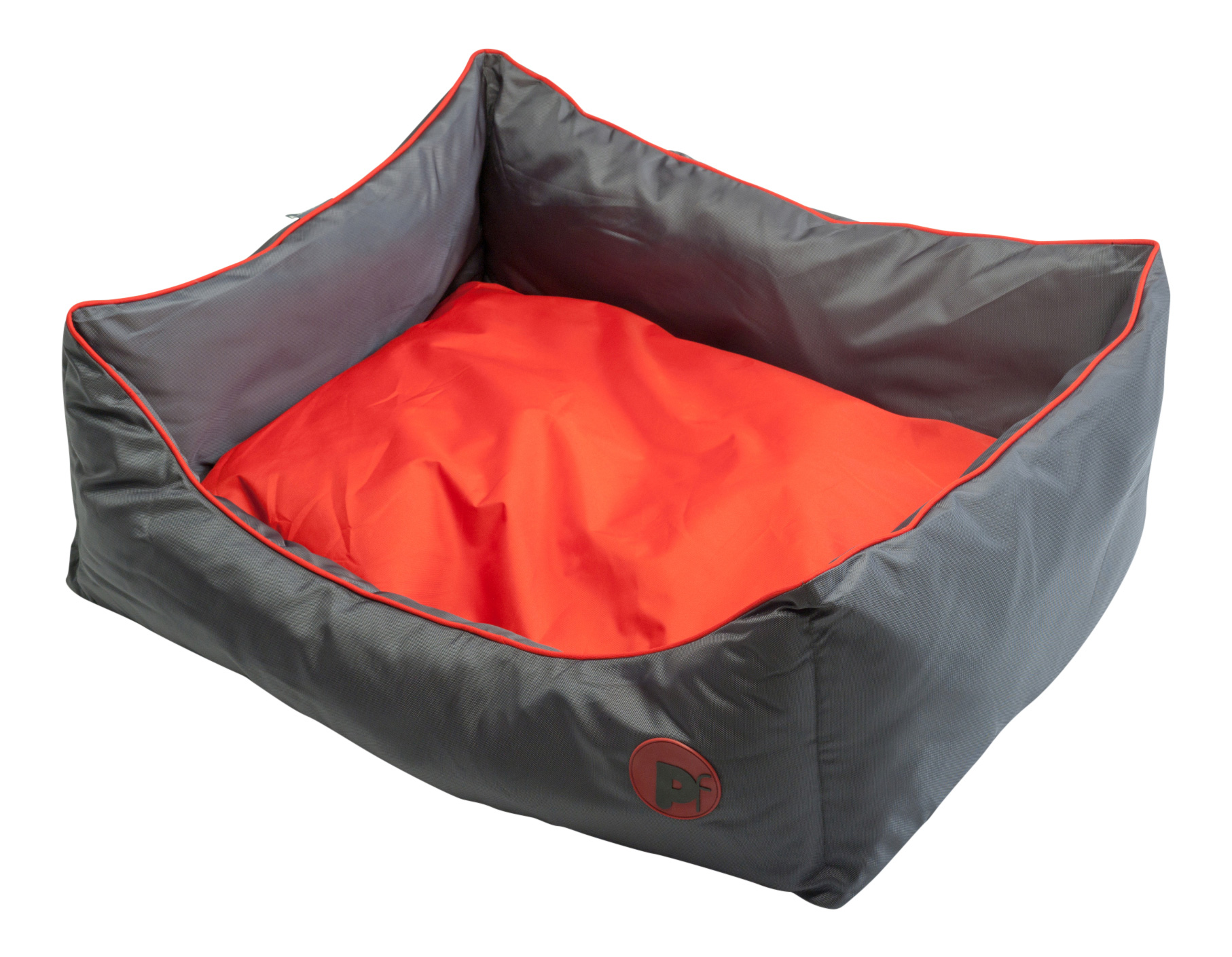 petface waterproof oxford pet bed puppy dog luxury oval or square