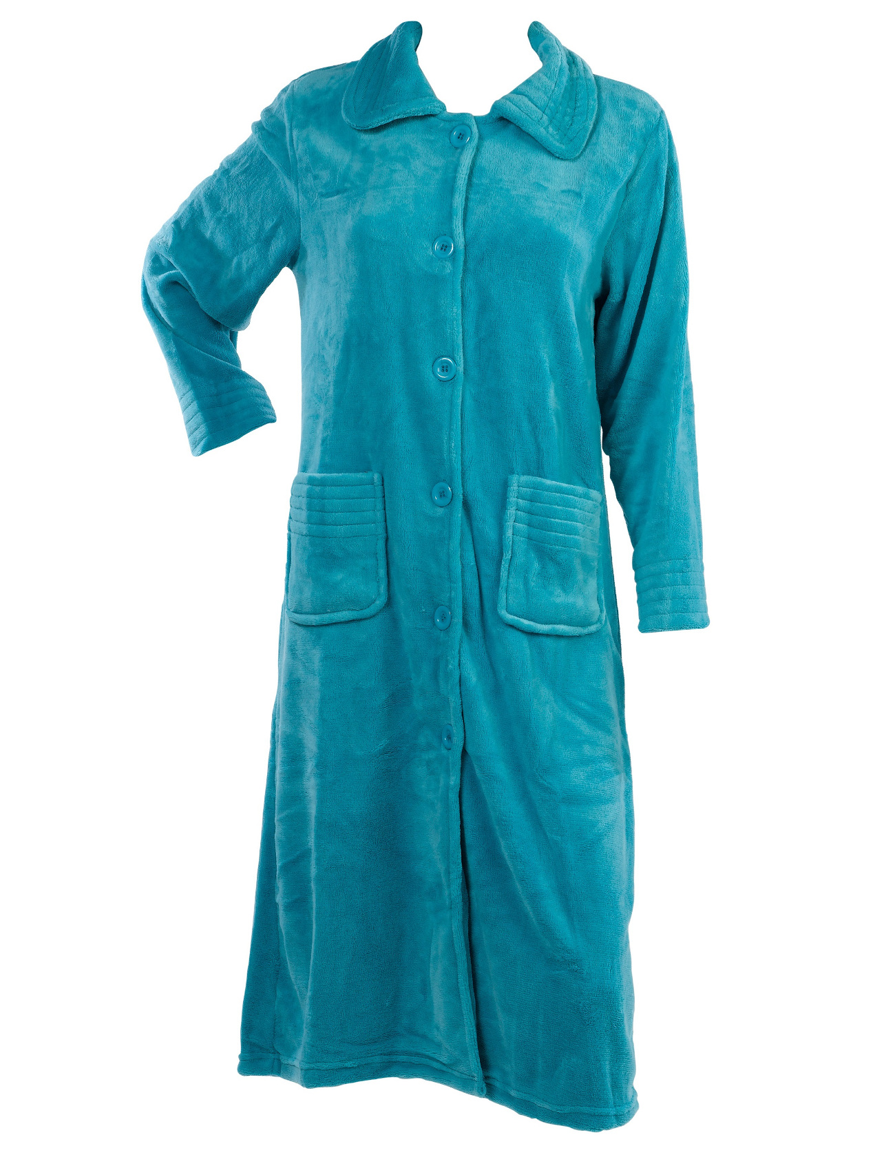 Womens Button Up Dressing Gowns Clothing