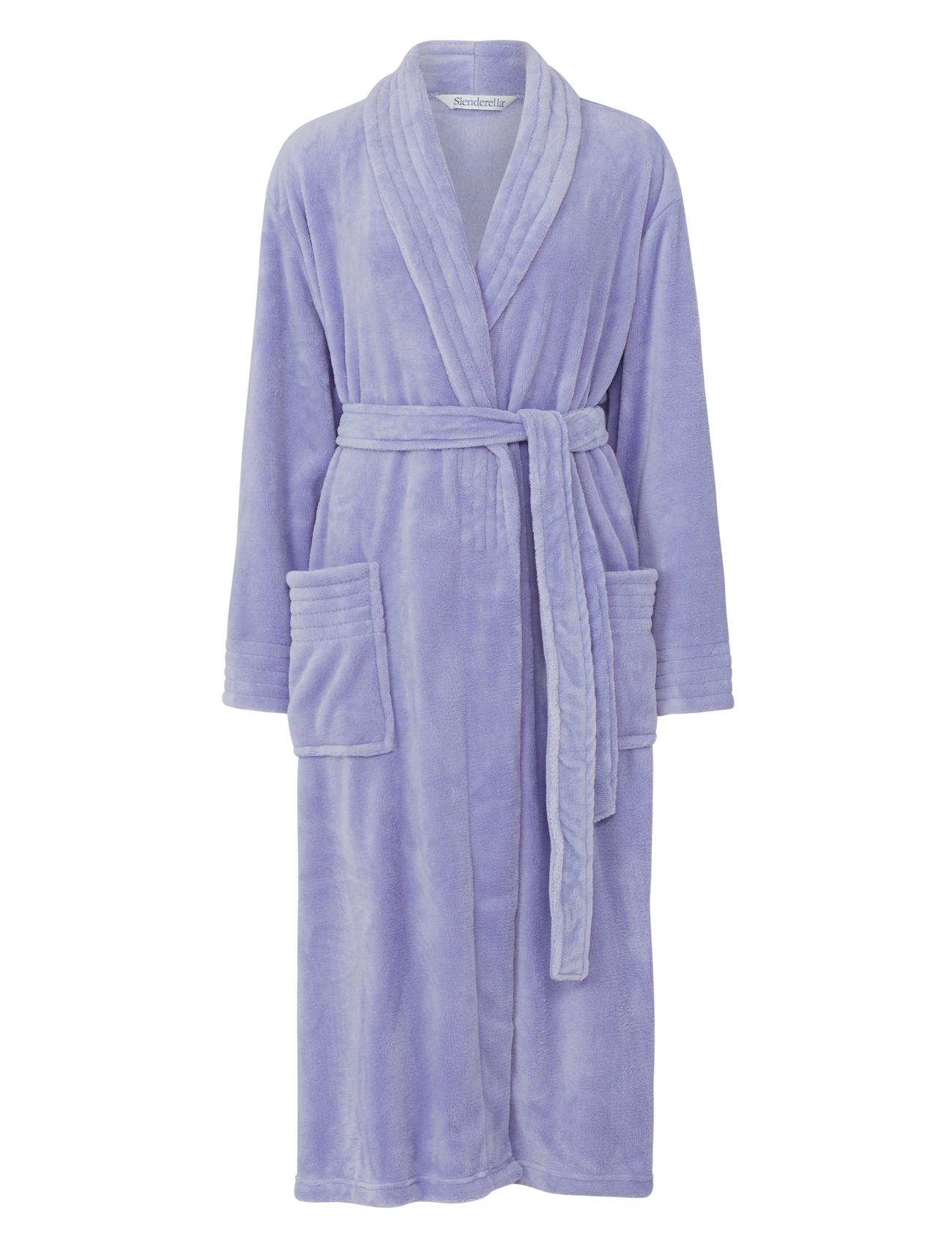 slenderella femmes enveloppant polaire souple robe de chambre de luxe col ch le ebay. Black Bedroom Furniture Sets. Home Design Ideas
