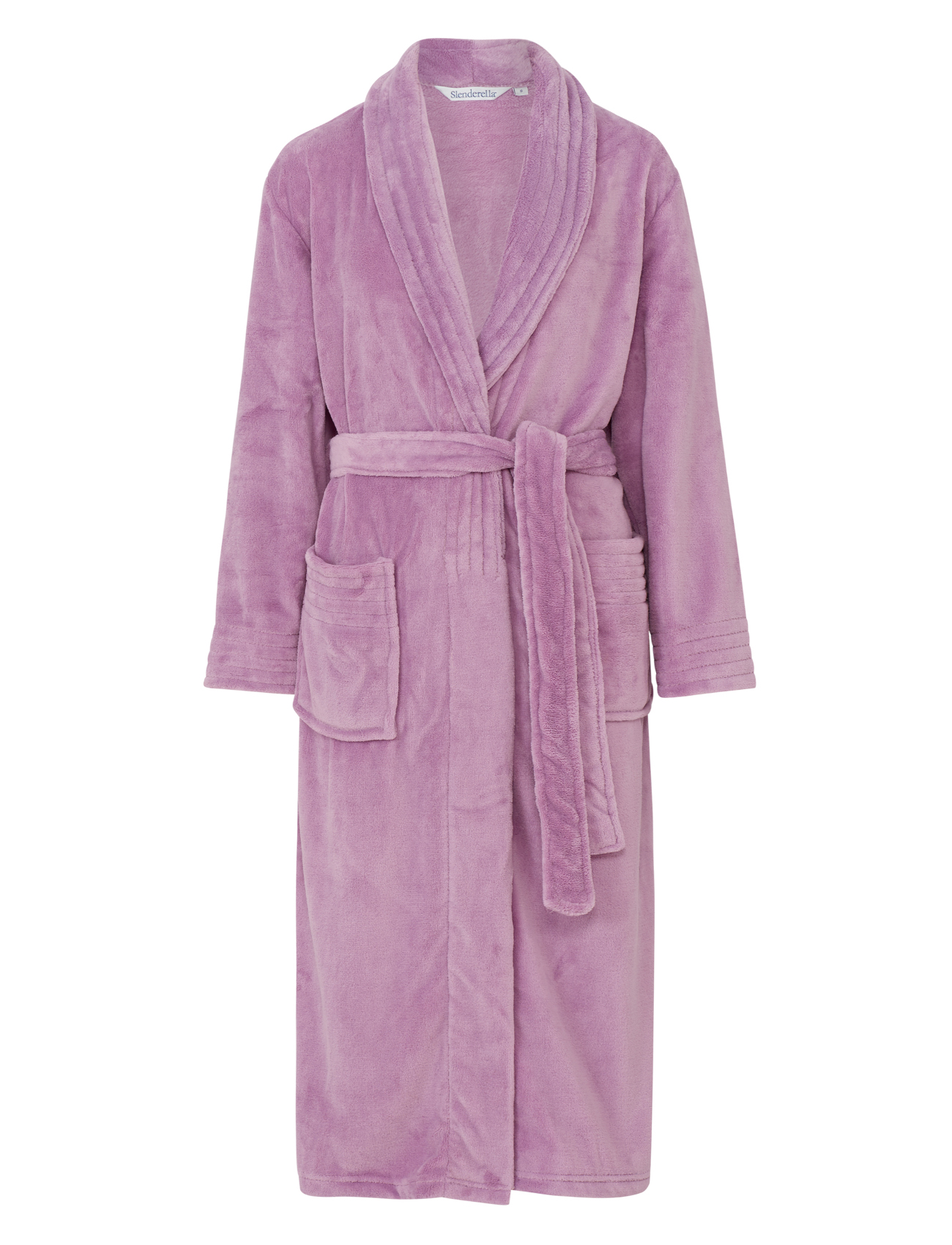 Dressing Gown Womens Wrap Around Soft Fleecy Plain Bath ...
