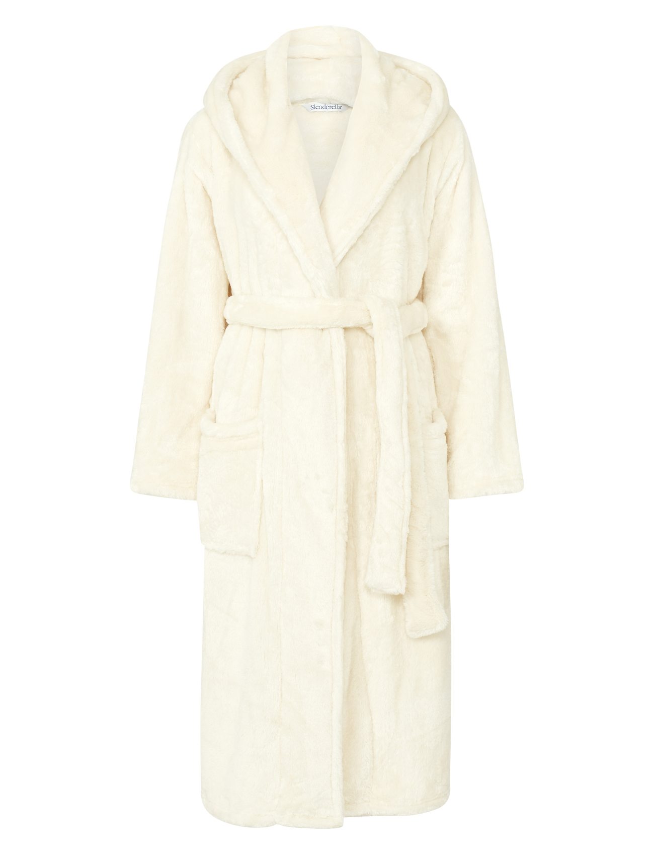 Dressing Gown Luxury Super Soft Thick Fleece Ladies Hooded ...