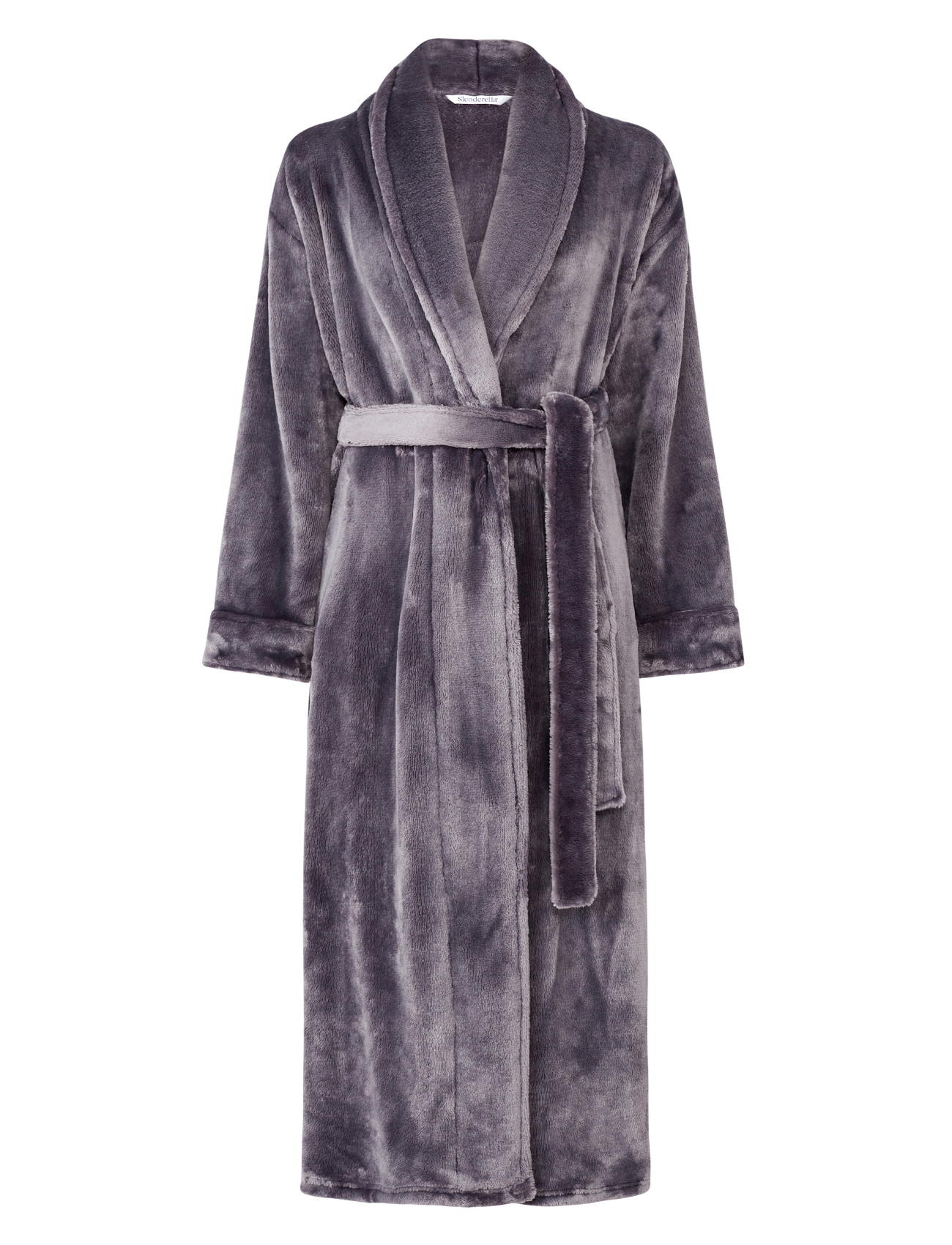 Dressing Gown Super Soft Thick Fleece Ladies Shawl Collar