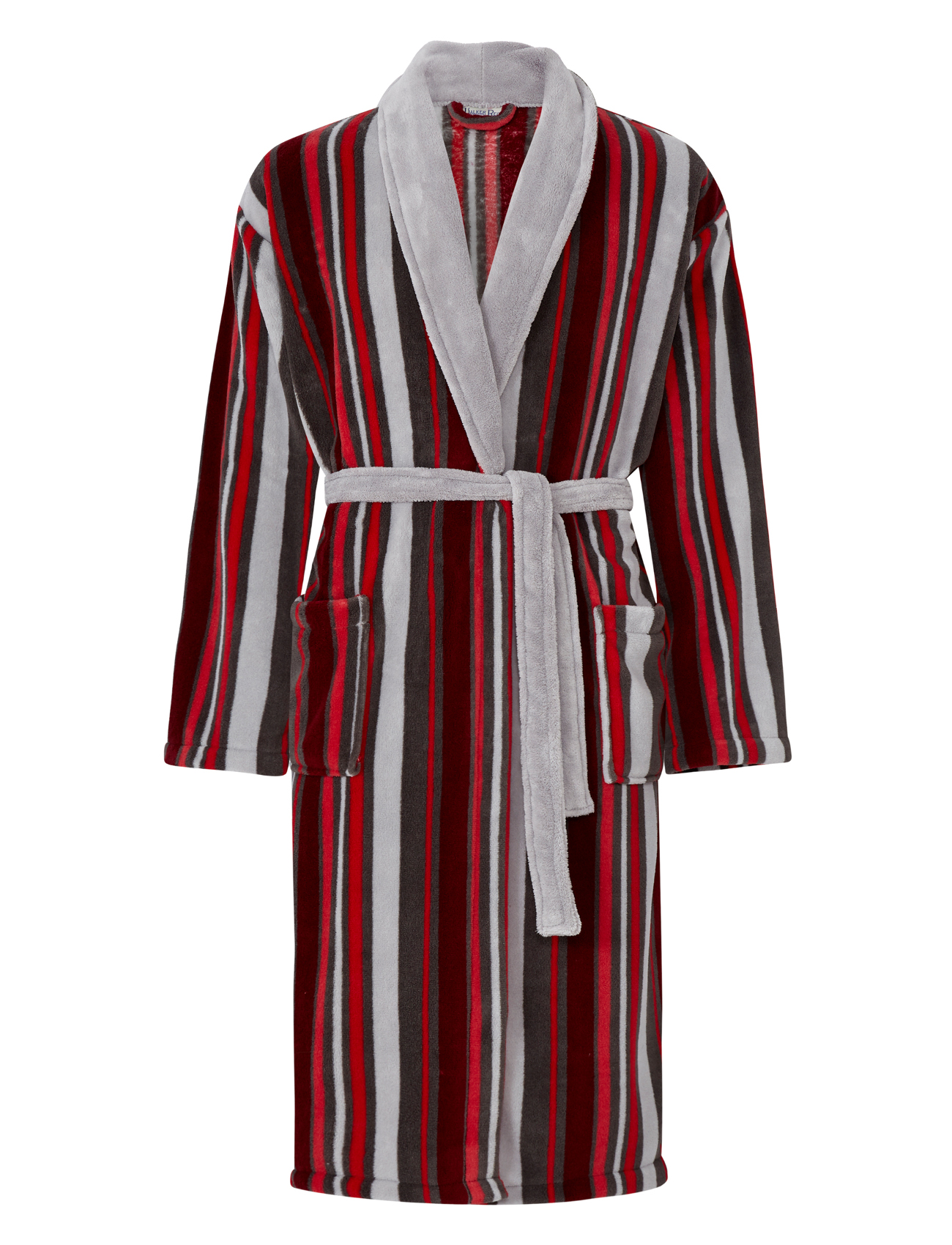 robe de chambre homme polaire rayures peignoir luxe walker reid nightwear robe ebay. Black Bedroom Furniture Sets. Home Design Ideas