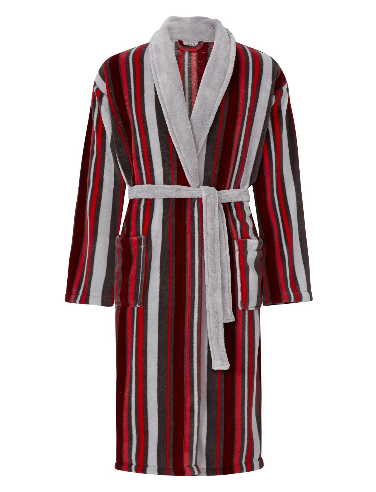 robe de chambre homme polaire rayures peignoir luxe walker reid nightwear robe ebay. Black Bedroom Furniture Sets. Home Design Ideas