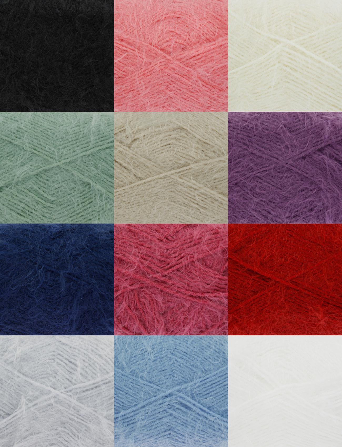 Free Knitting Pattern Dk Yarn : King Cole Embrace DK & Free Knitting Pattern Double Knit Soft Fluffy Yarn...