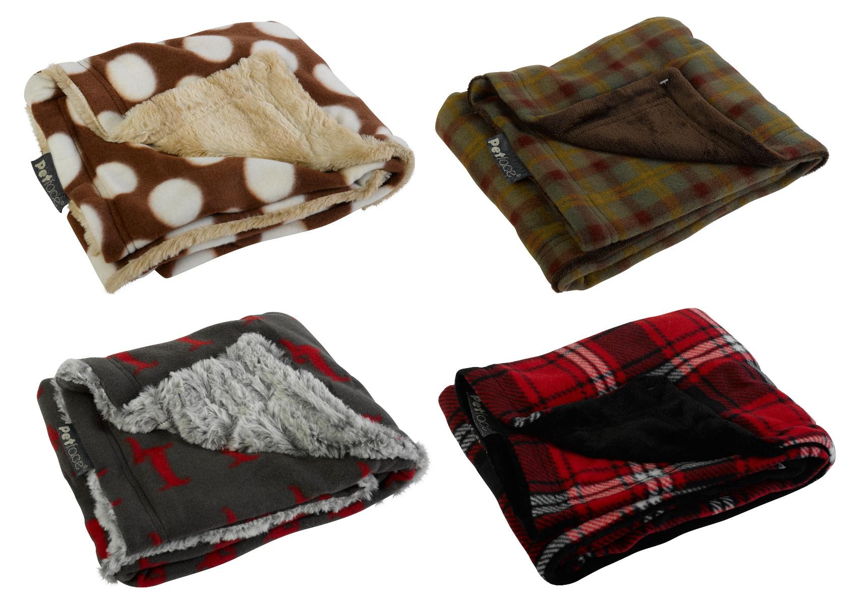 Super Soft Fleece Pet Blankets Petface Warm Amp Cosy
