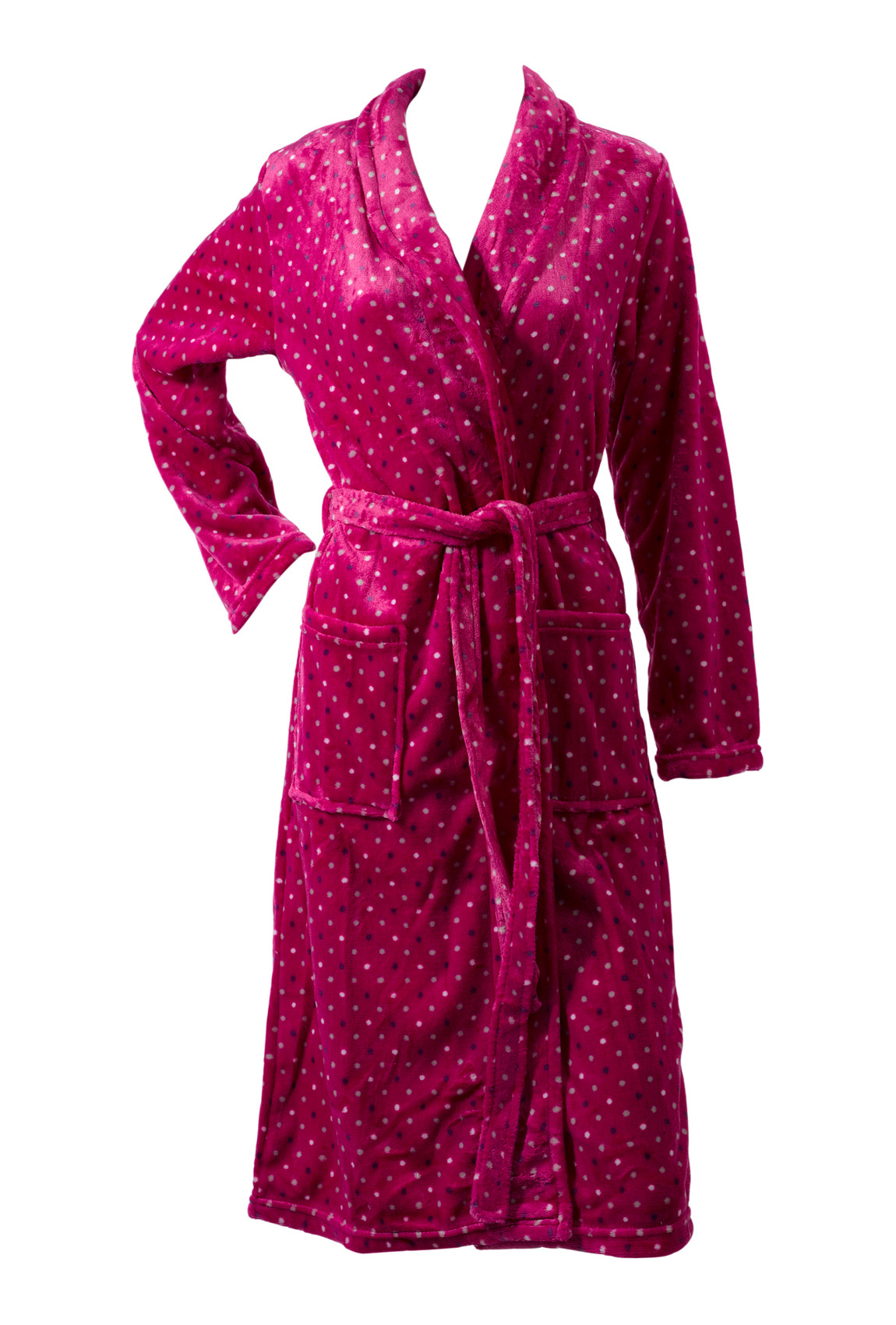 Ladies Soft Fleece Spotty Dressing Gown with Novelty Animal Hood. £ Lady Selena Suzie Ditsy Floral Kimono Wrap Over, Women's Dressing Gown Sizes 8 to £ - £ Prime. 5 out of 5 stars 1. Jusfitsu Women Classic Long Sleeve Printed Satin .