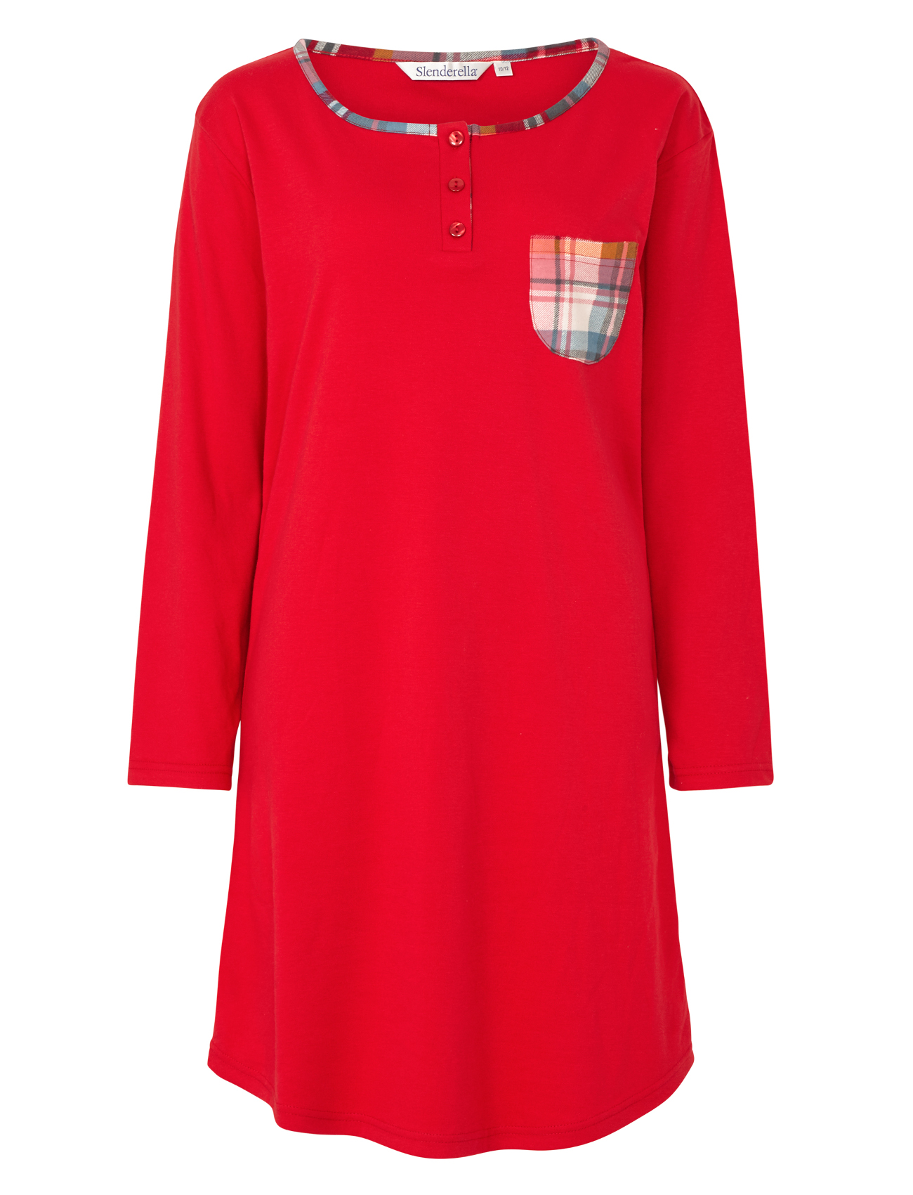 97644d9fd0 Slenderella Nightdress Nightshirt or Pyjamas 100% Cotton Tartan ...