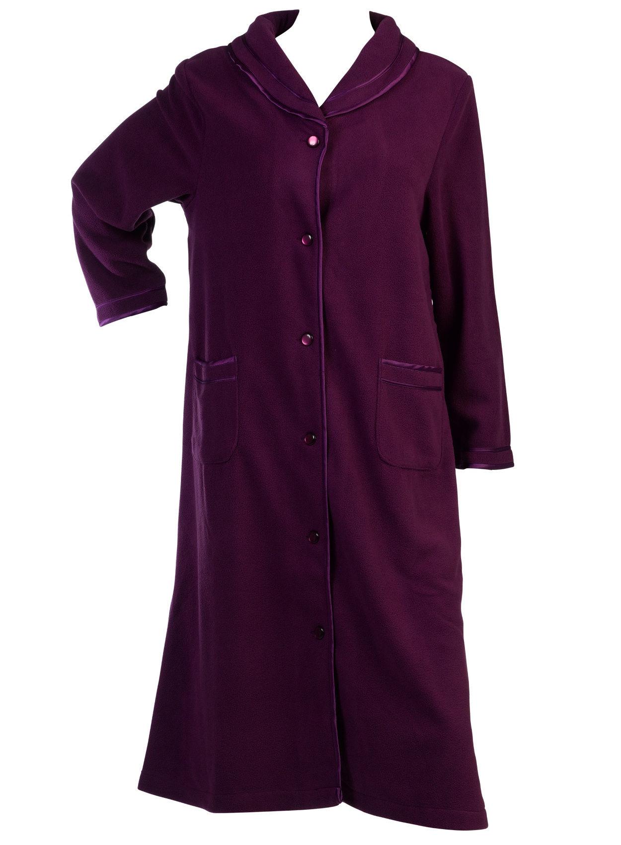 slenderella womens bed jacket or dressing gown anti pill. Black Bedroom Furniture Sets. Home Design Ideas