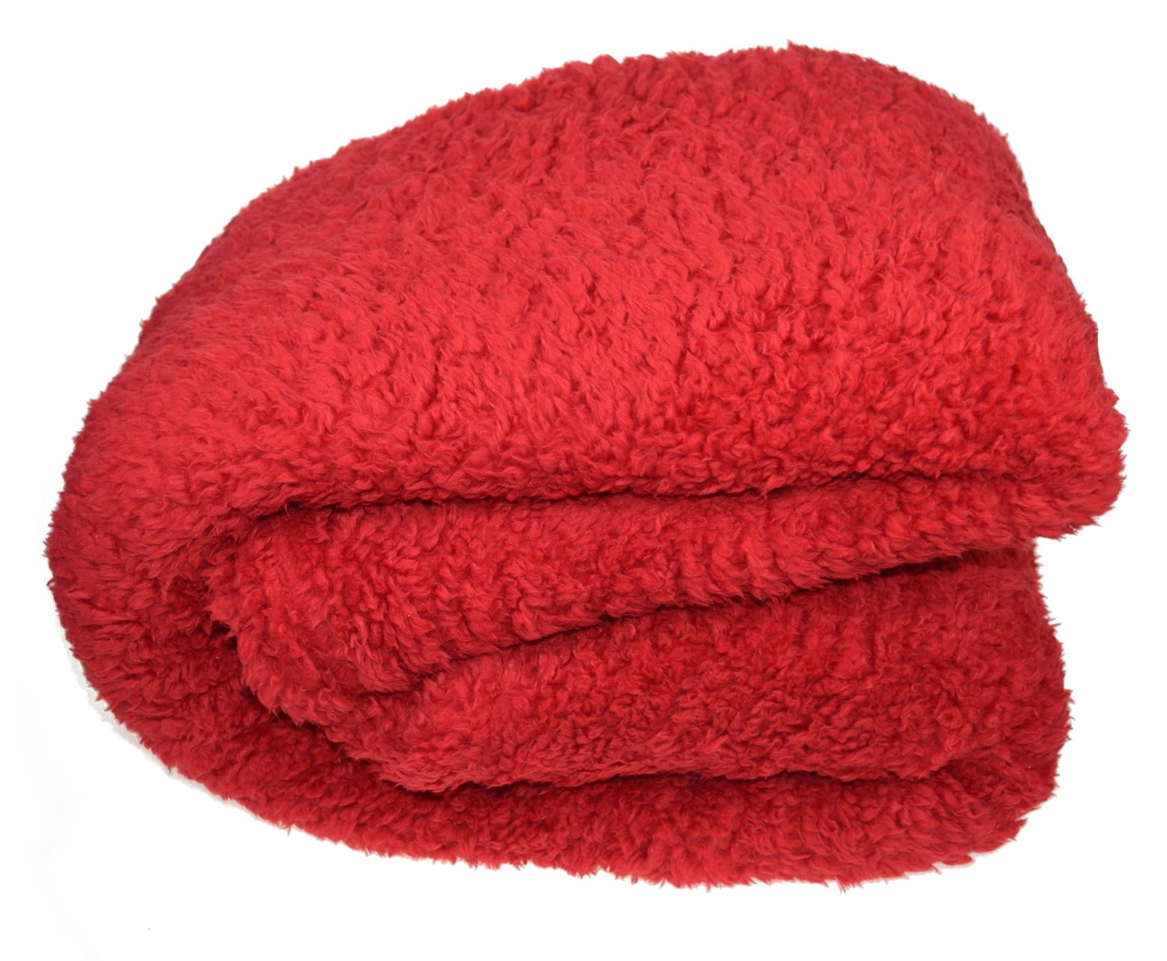 Super Soft Teddy Fleece Blanket Cosy Sofa Bed