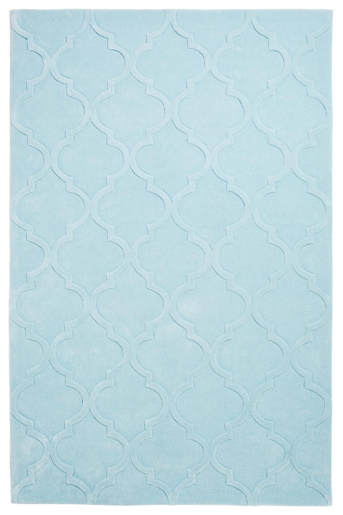 Modern Arabesque Rug 100 Acrylic Hand Tufted Trellis