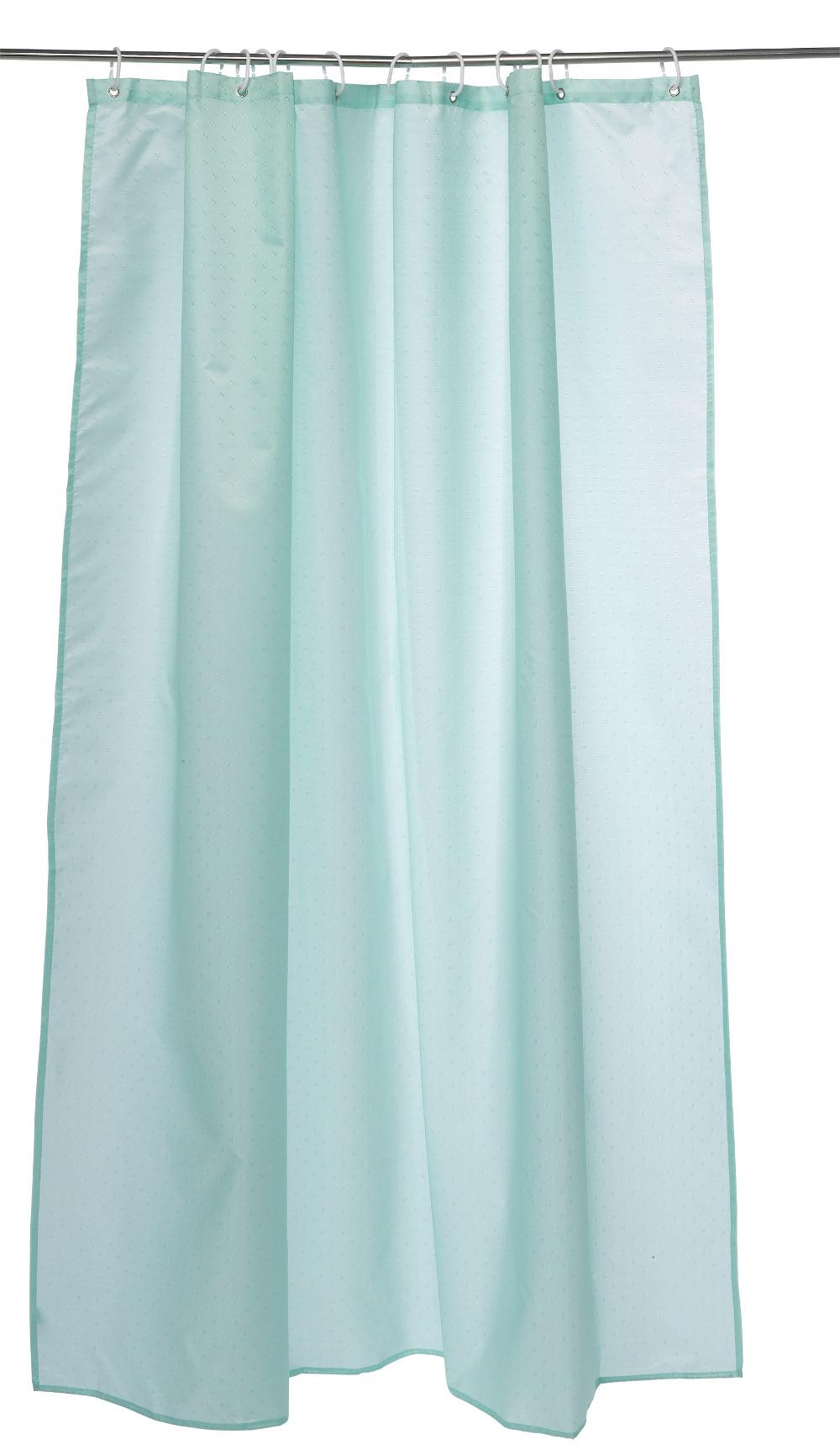 Waterproof Bathroom Shower Curtains Hooks 180cm X 180cm Weighted Splash Proof Ebay