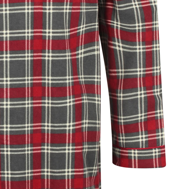Night Shirt Mens 100/% Cotton Walker Reid Button Up Traditional Checked Sleepwear